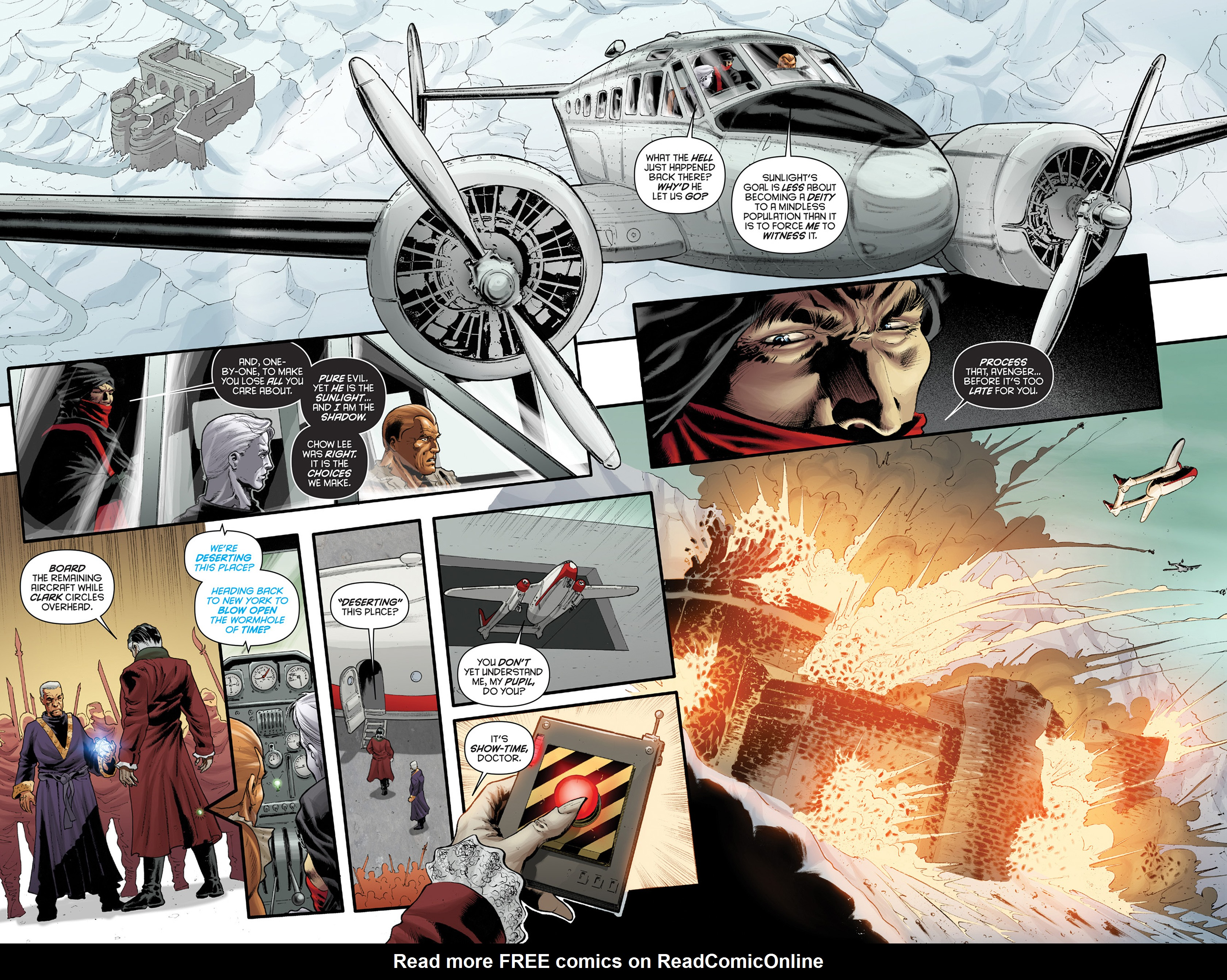 Read online Justice, Inc. comic -  Issue #4 - 16