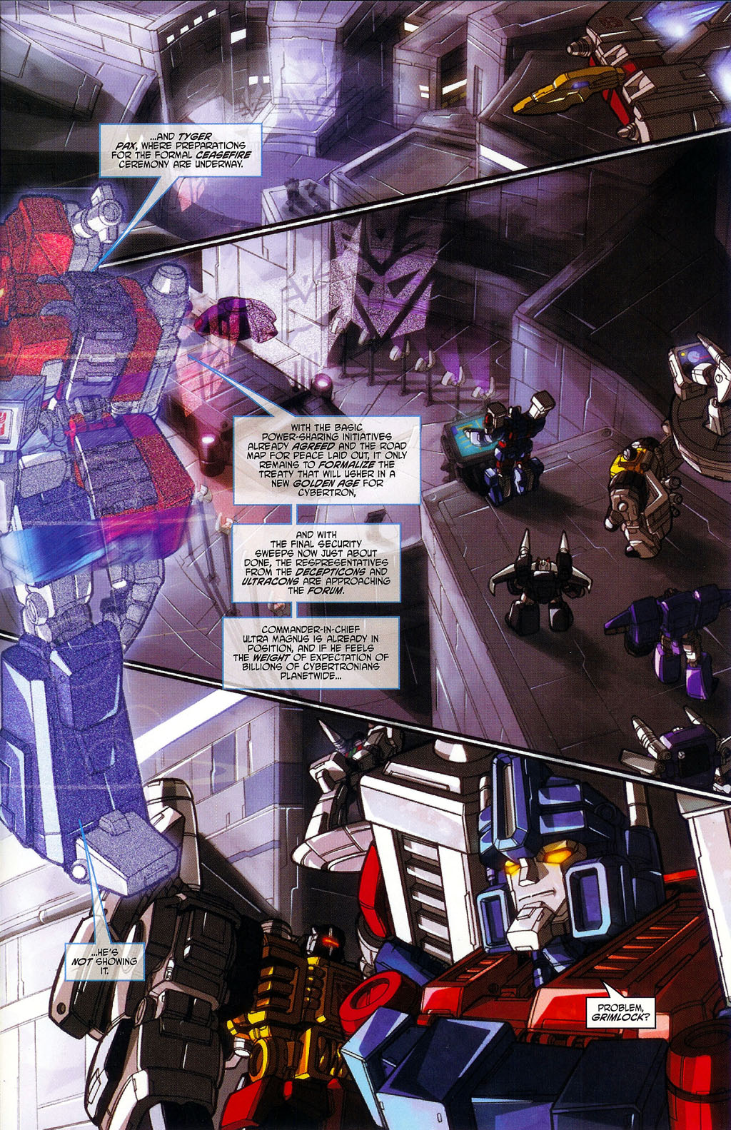 """Read online Transformers War Within: """"The Age of Wrath"""" comic -  Issue #1 - 12"""