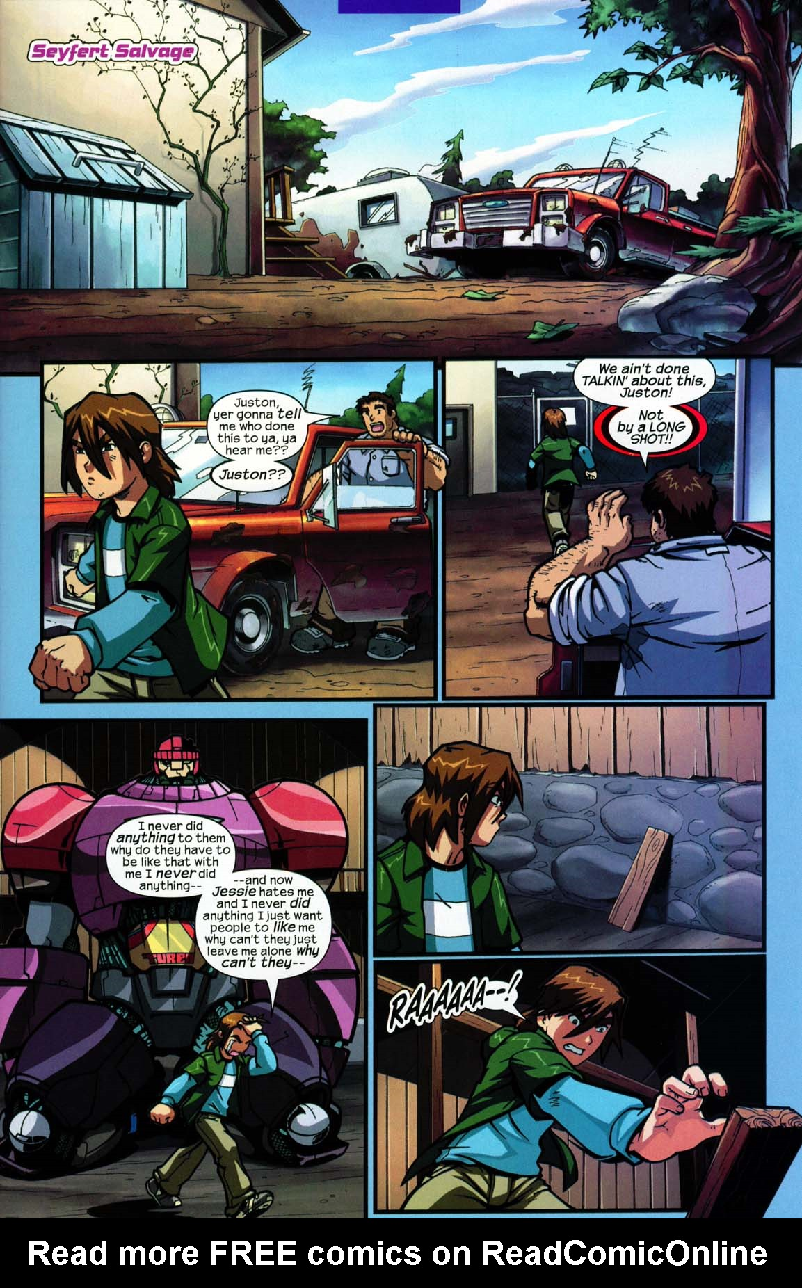 Read online Sentinel comic -  Issue #5 - 15
