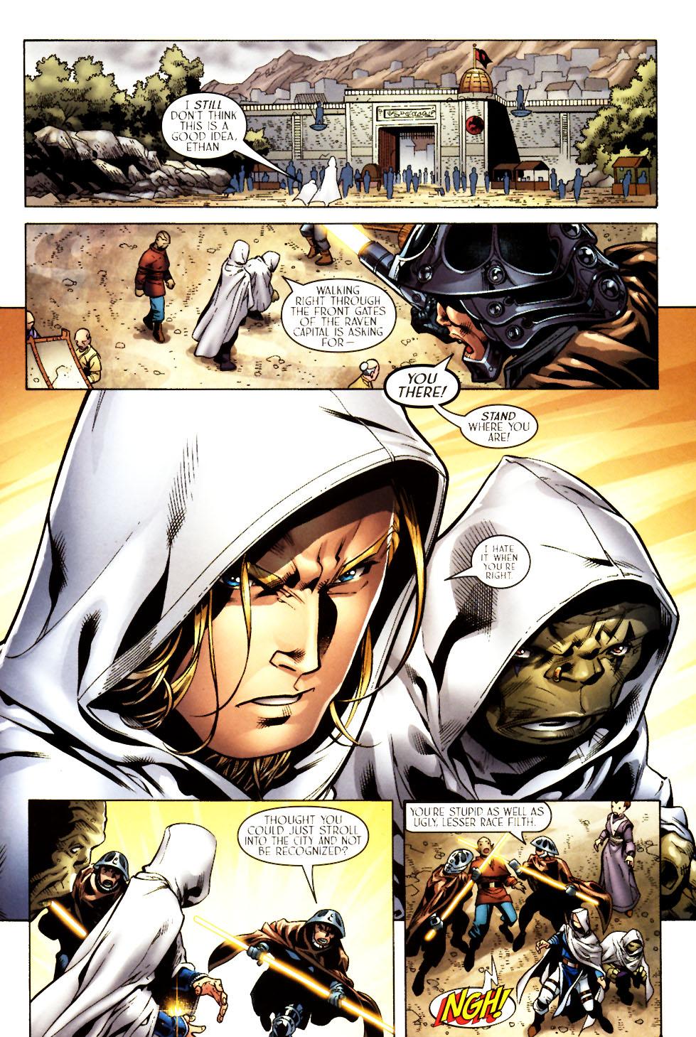 Read online Scion comic -  Issue #11 - 23