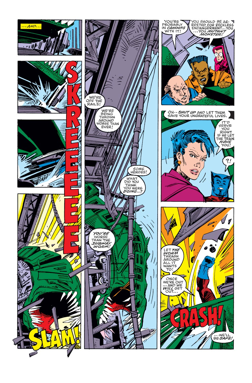 Read online X-Factor (1986) comic -  Issue #36 - 13