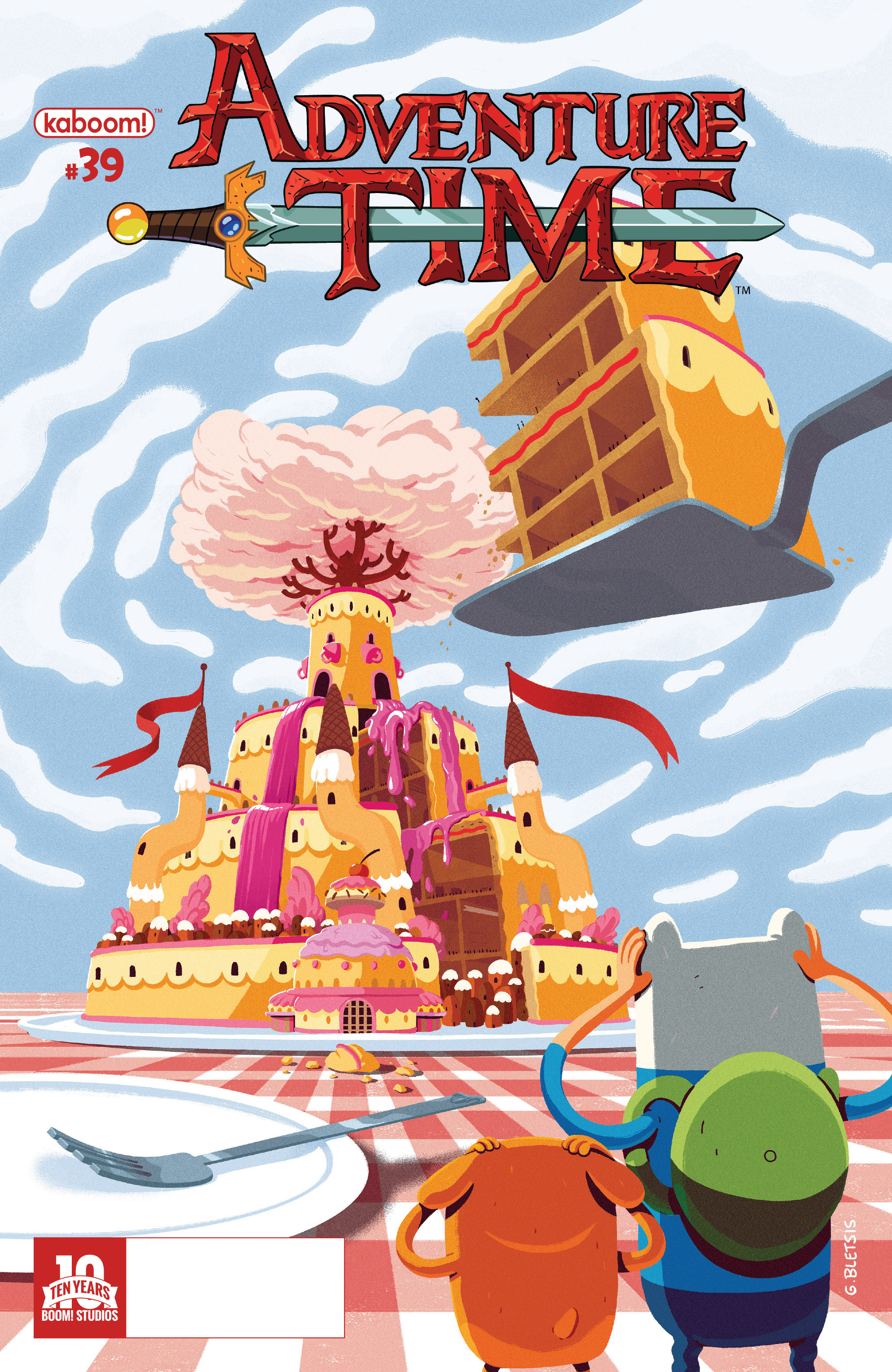 Read online Adventure Time comic -  Issue #39 - 1