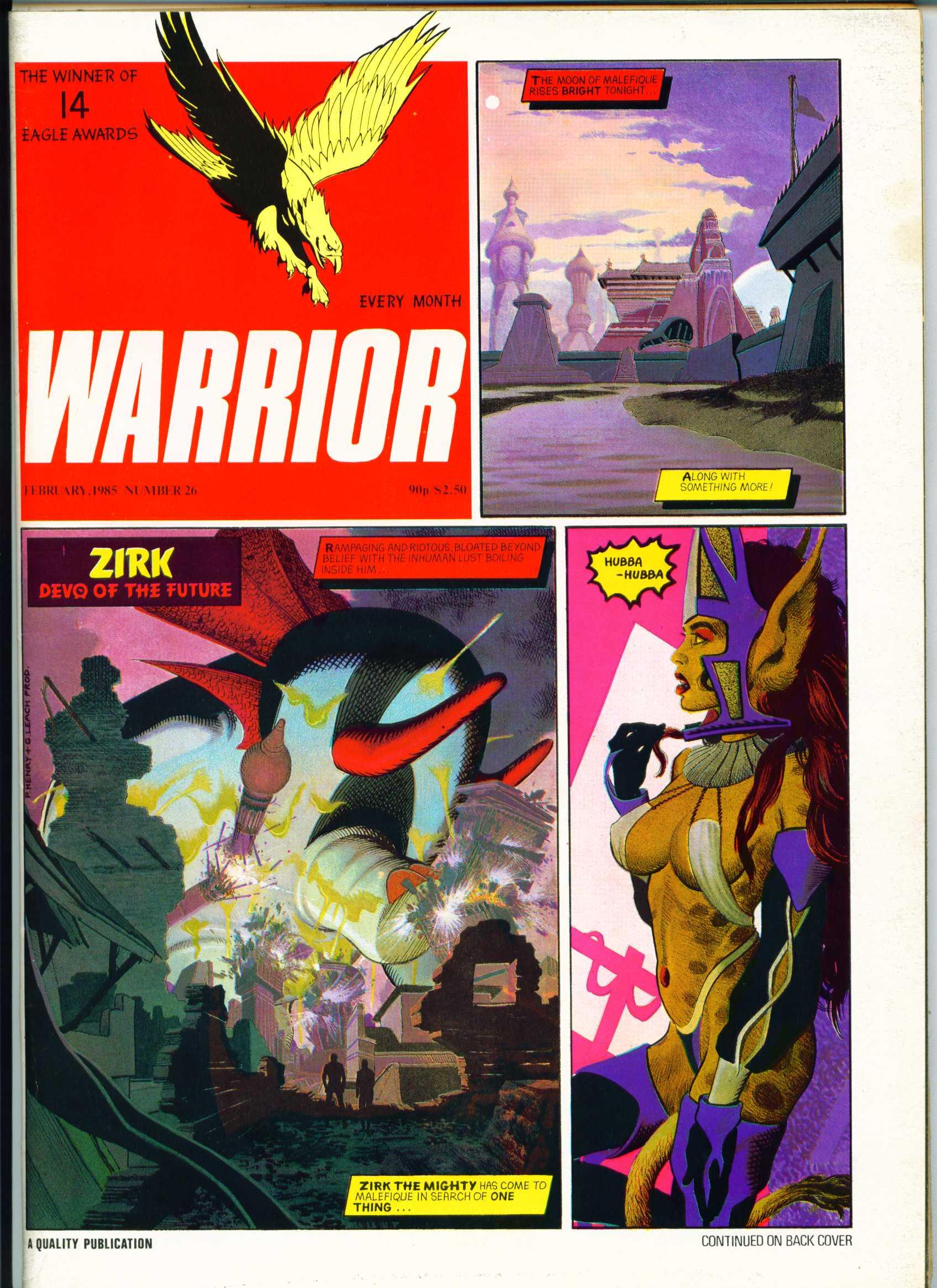 Warrior 26 Page 1