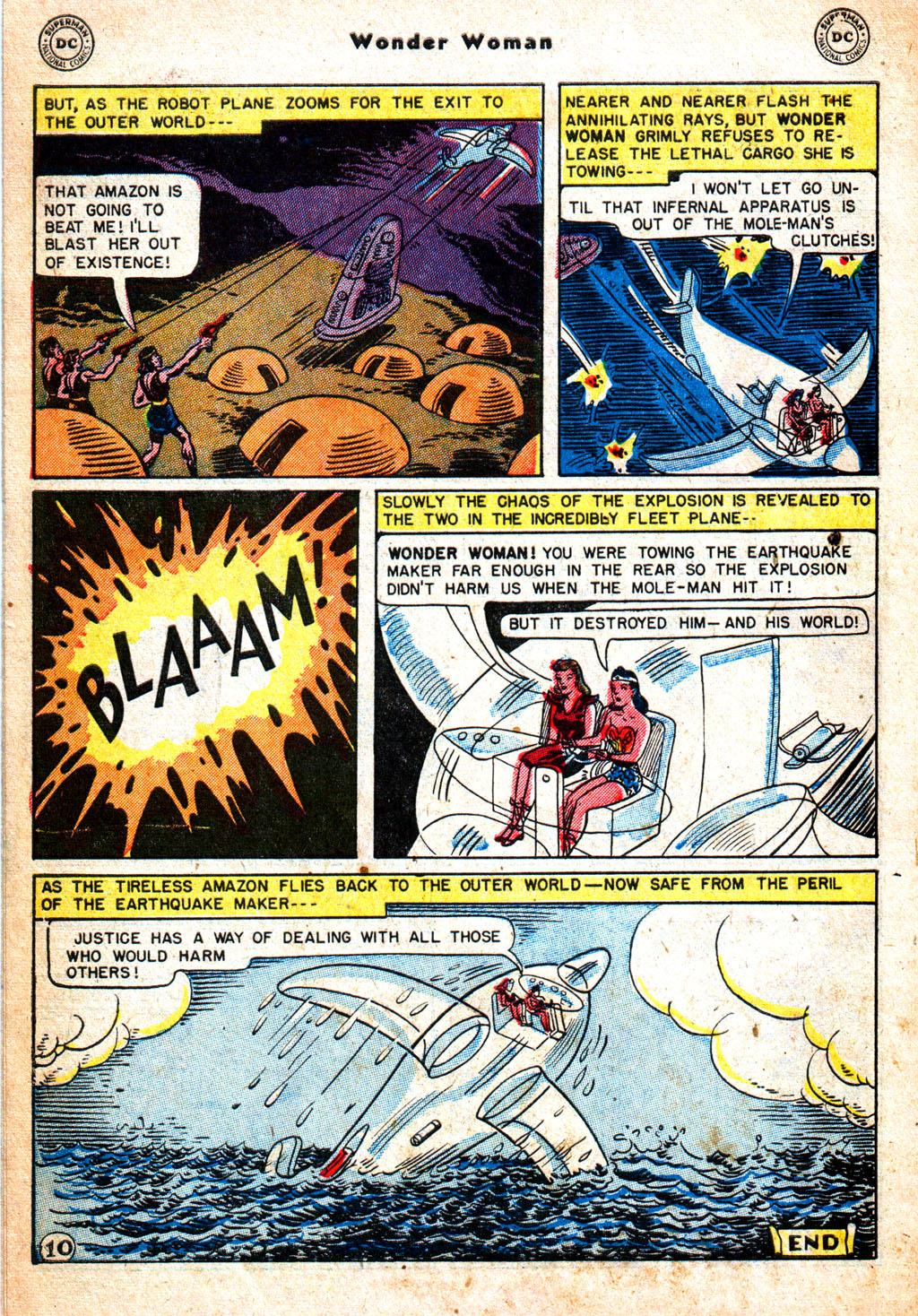 Read online Wonder Woman (1942) comic -  Issue #57 - 11