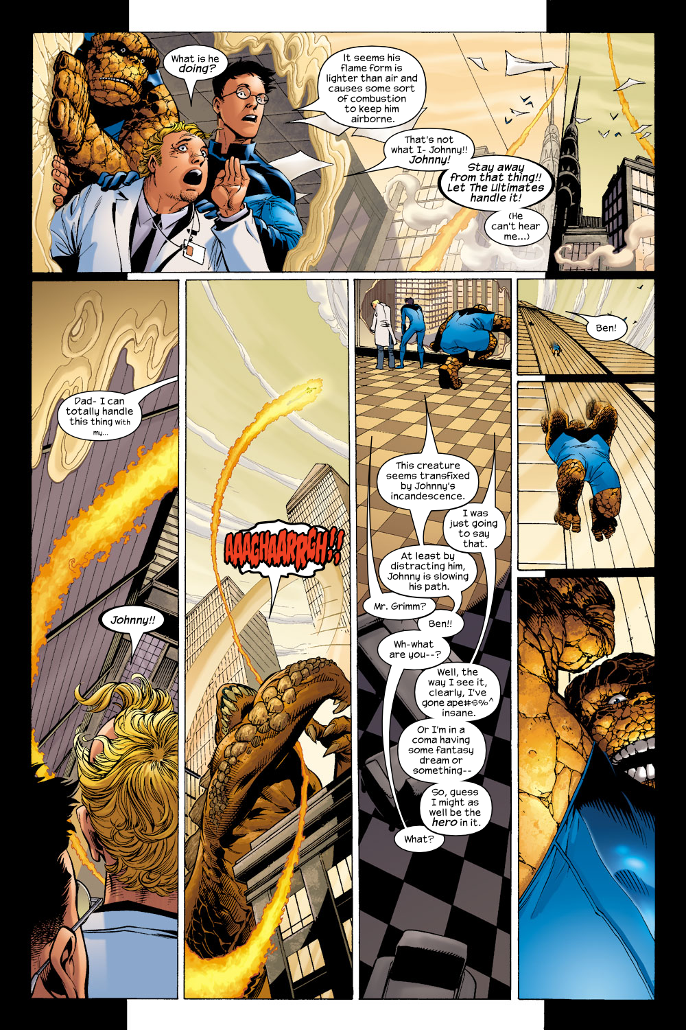 Read online Ultimate Fantastic Four (2004) comic -  Issue #5 - 4