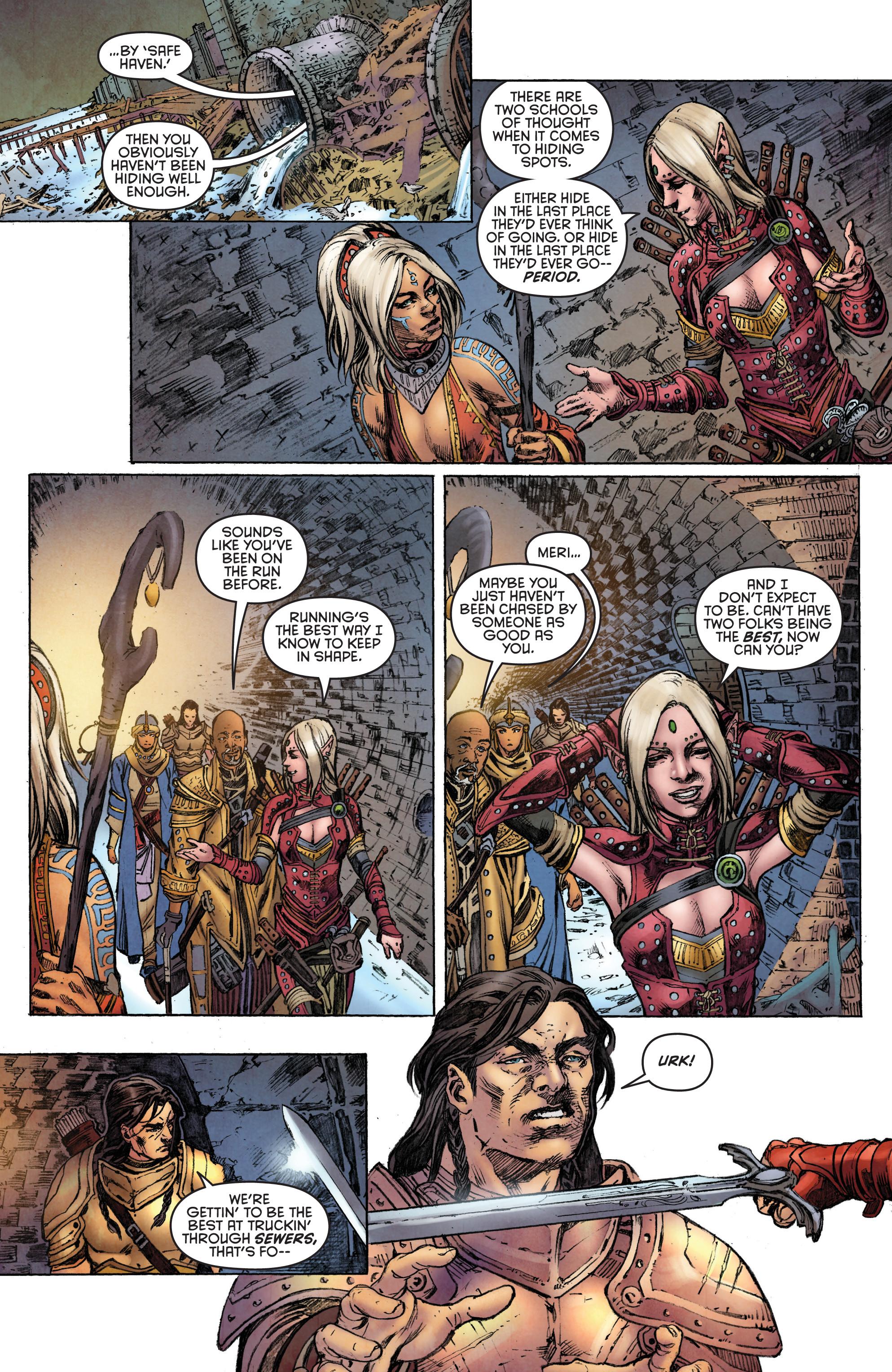 Read online Pathfinder: Runescars comic -  Issue #1 - 16