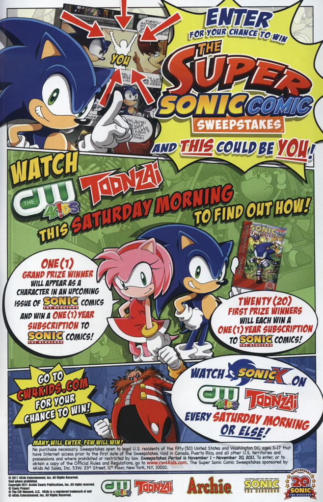 Read online Sonic Universe comic -  Issue #34 - 35