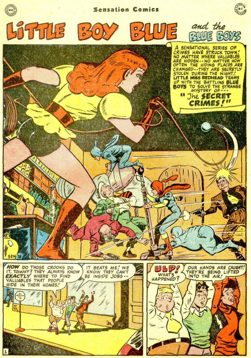 Read online Sensation (Mystery) Comics comic -  Issue #77 - 17