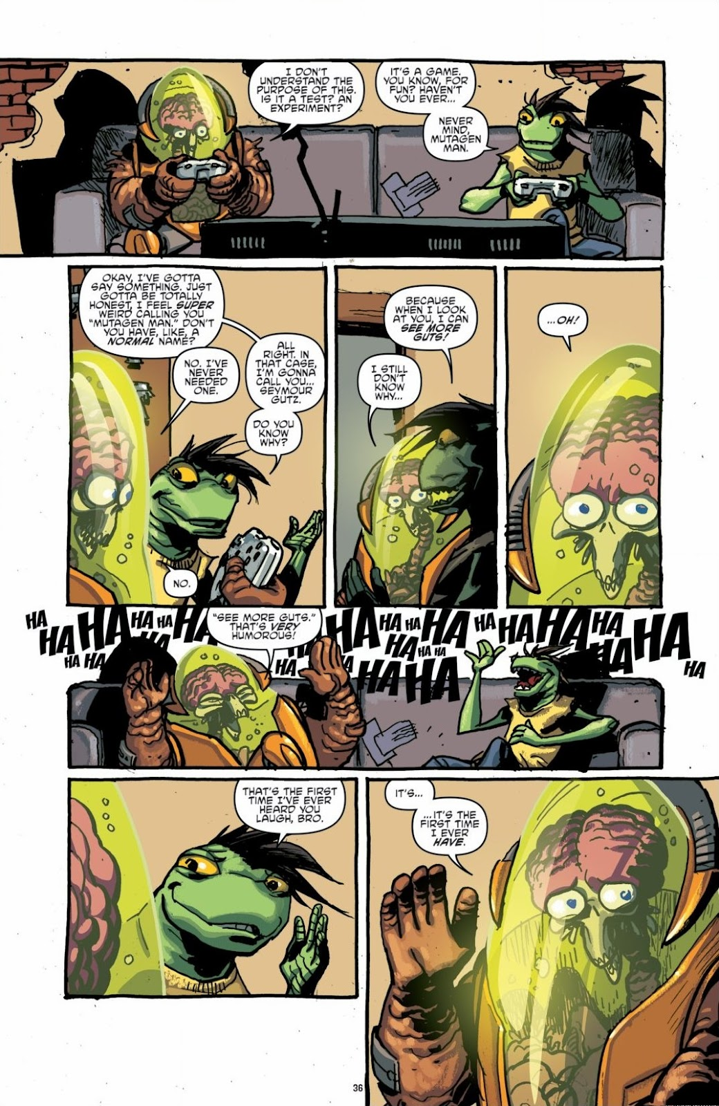 Read online Teenage Mutant Ninja Turtles: The IDW Collection comic -  Issue # TPB 6 (Part 1) - 35