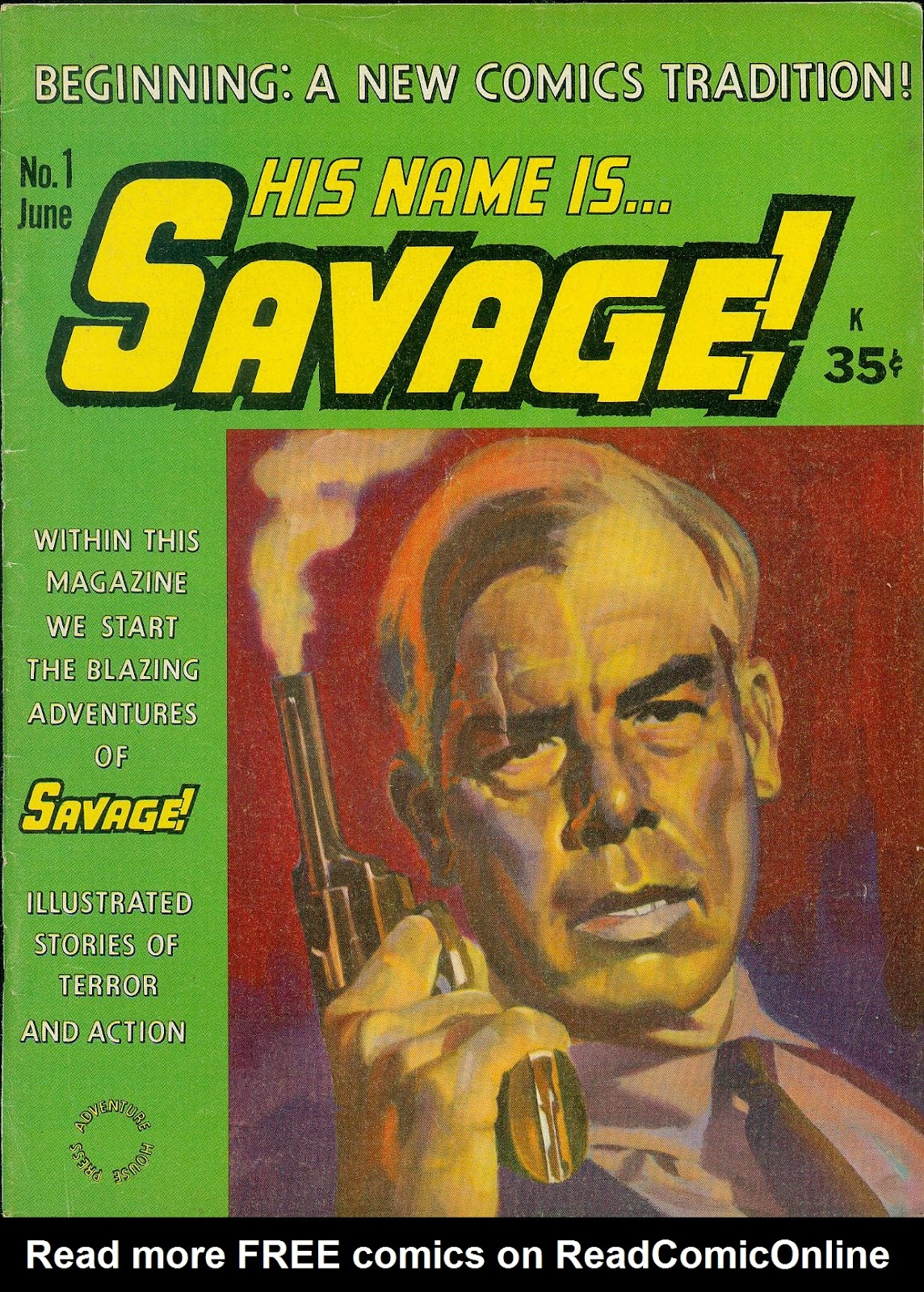 His Name is Savage Full Page 1