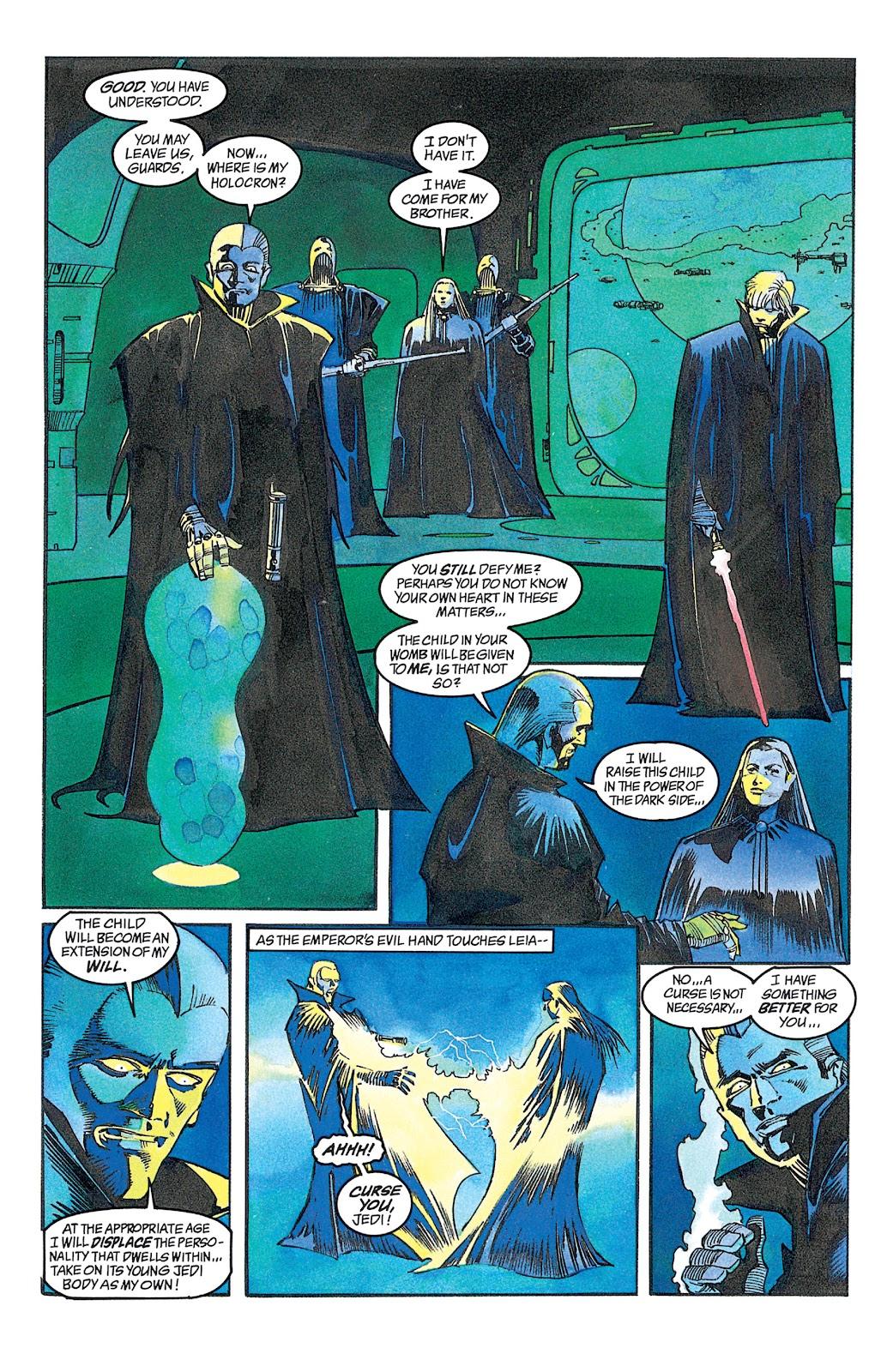Read online Star Wars: Dark Empire Trilogy comic -  Issue # TPB (Part 2) - 47