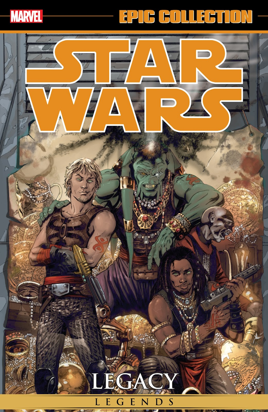 Read online Star Wars Legends: Legacy - Epic Collection comic -  Issue # TPB 2 (Part 1) - 1