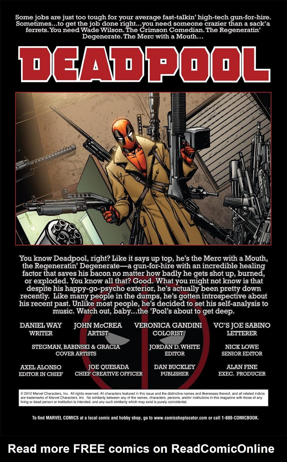Read online Deadpool (2008) comic -  Issue #49.1 - 2