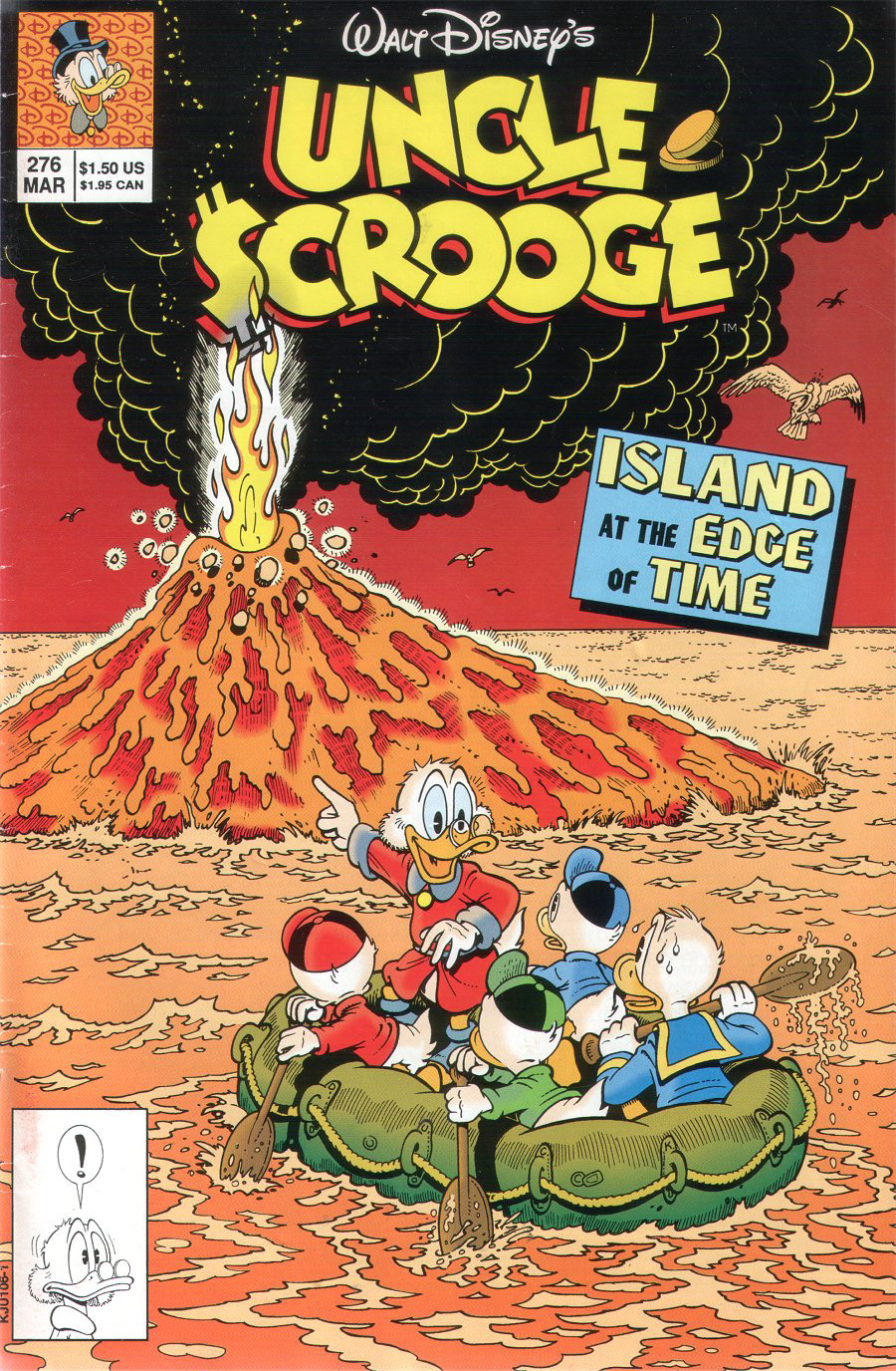Read online Uncle Scrooge (1953) comic -  Issue #276 - 1