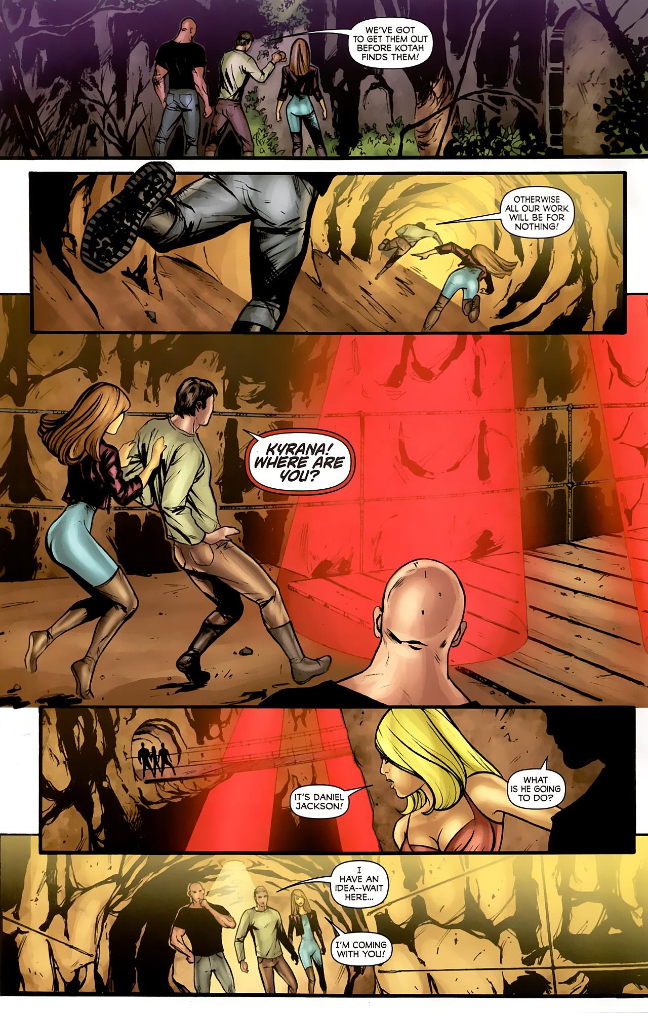 Read online Stargate: Daniel Jackson comic -  Issue #4 - 4