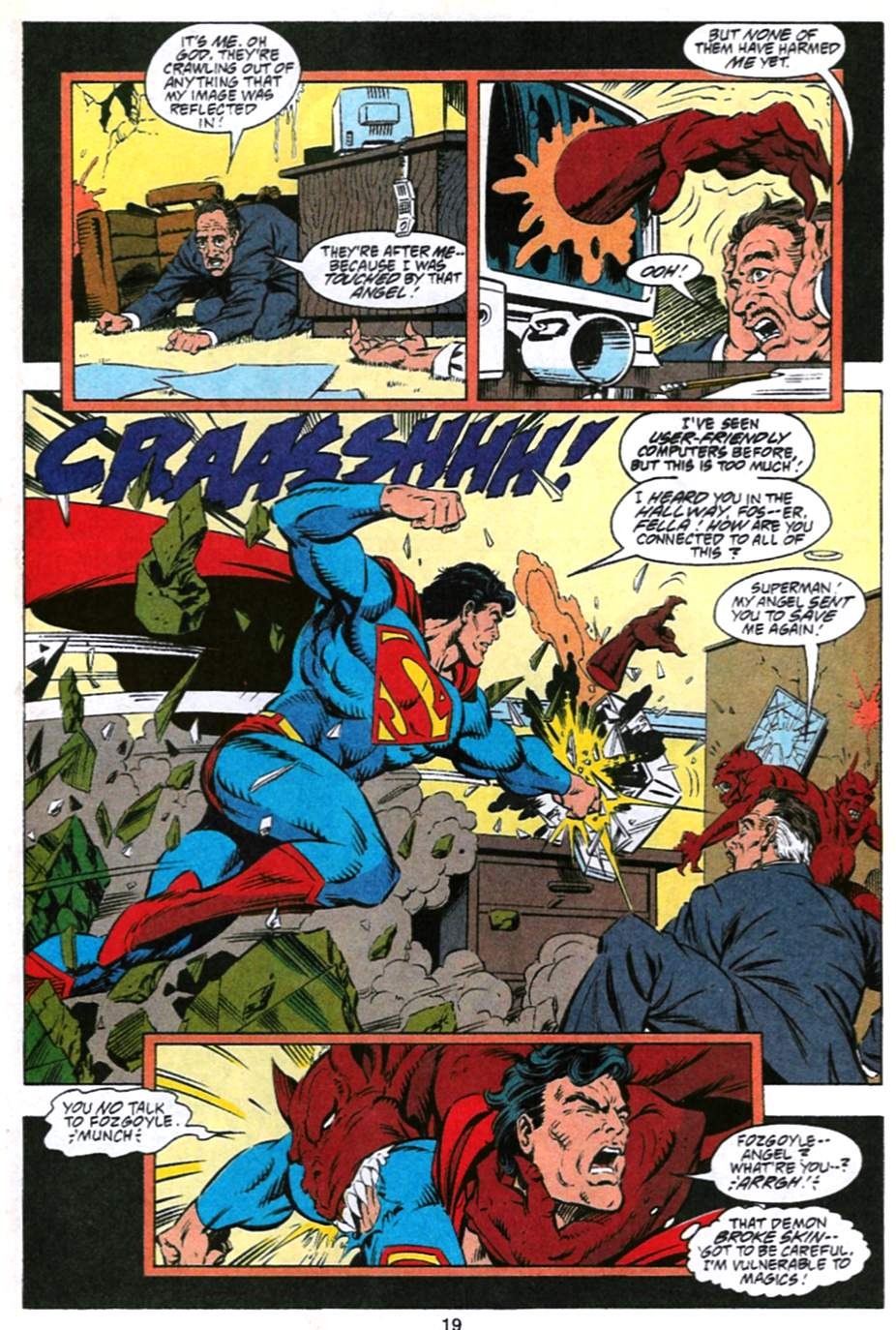 Read online Adventures of Superman (1987) comic -  Issue #493 - 20