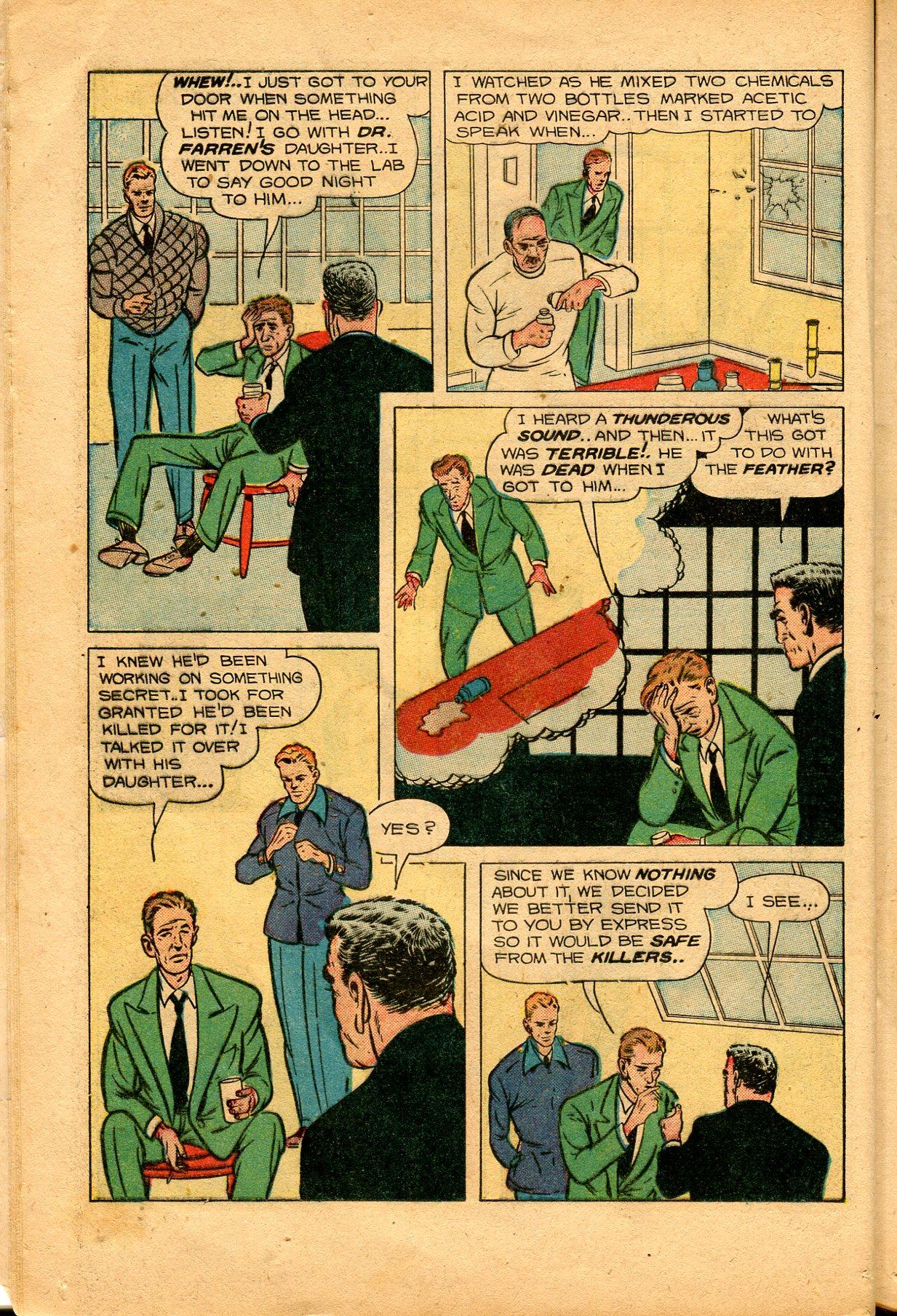 Read online Shadow Comics comic -  Issue #94 - 18