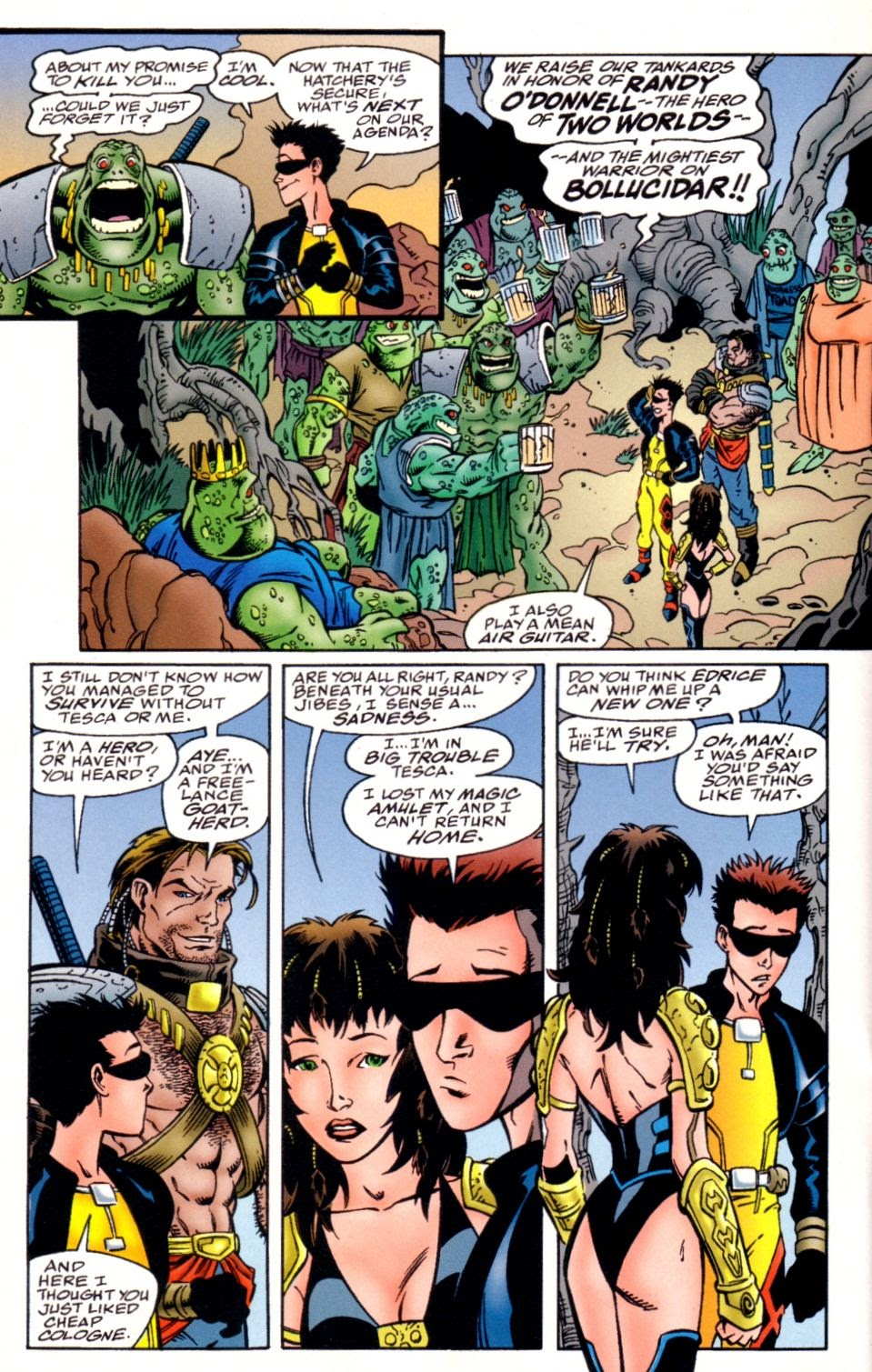 Read online Randy O'Donnell is The M@N comic -  Issue #3 - 22