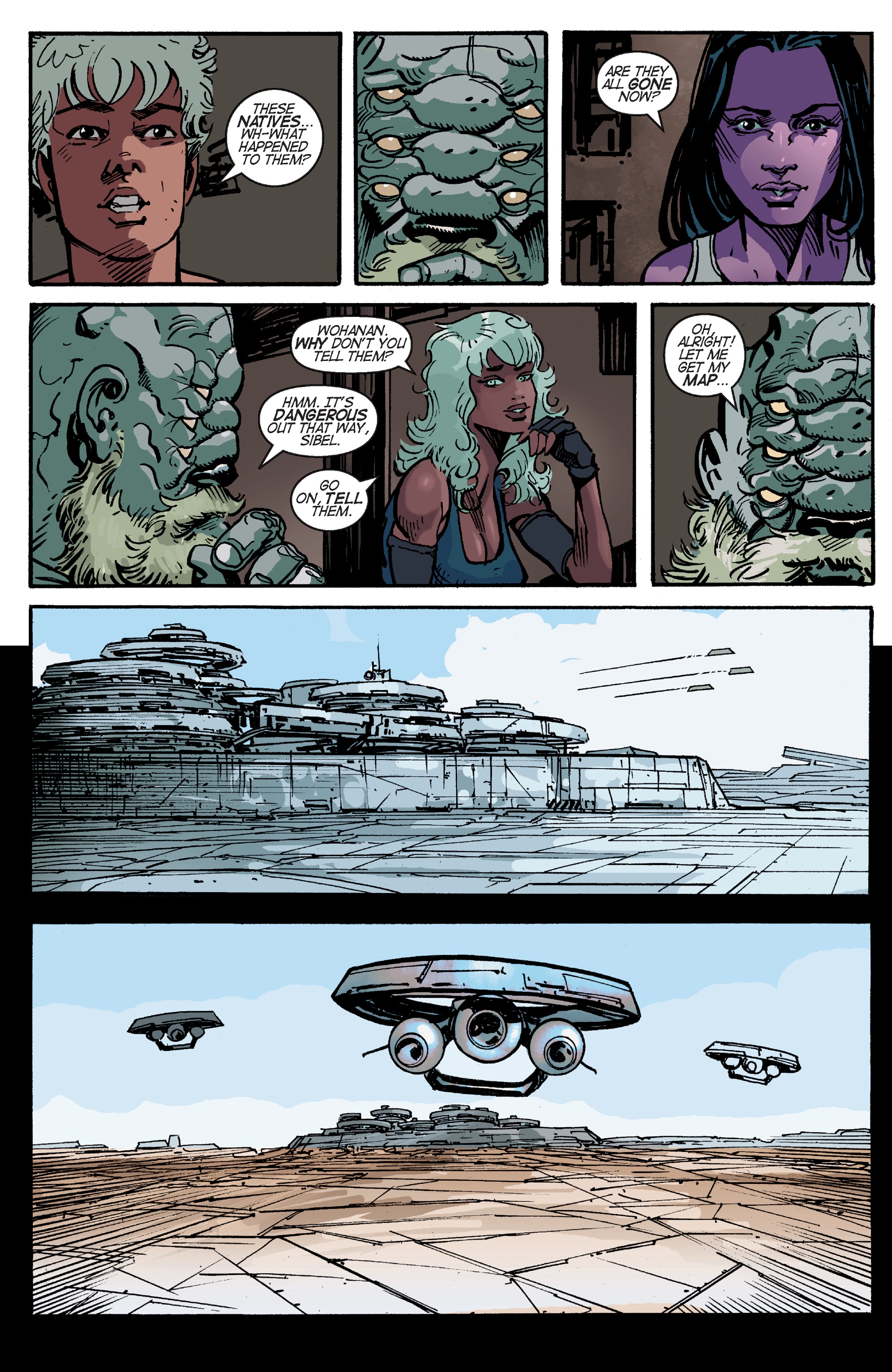 Read online Planetoid Praxis comic -  Issue #4 - 22