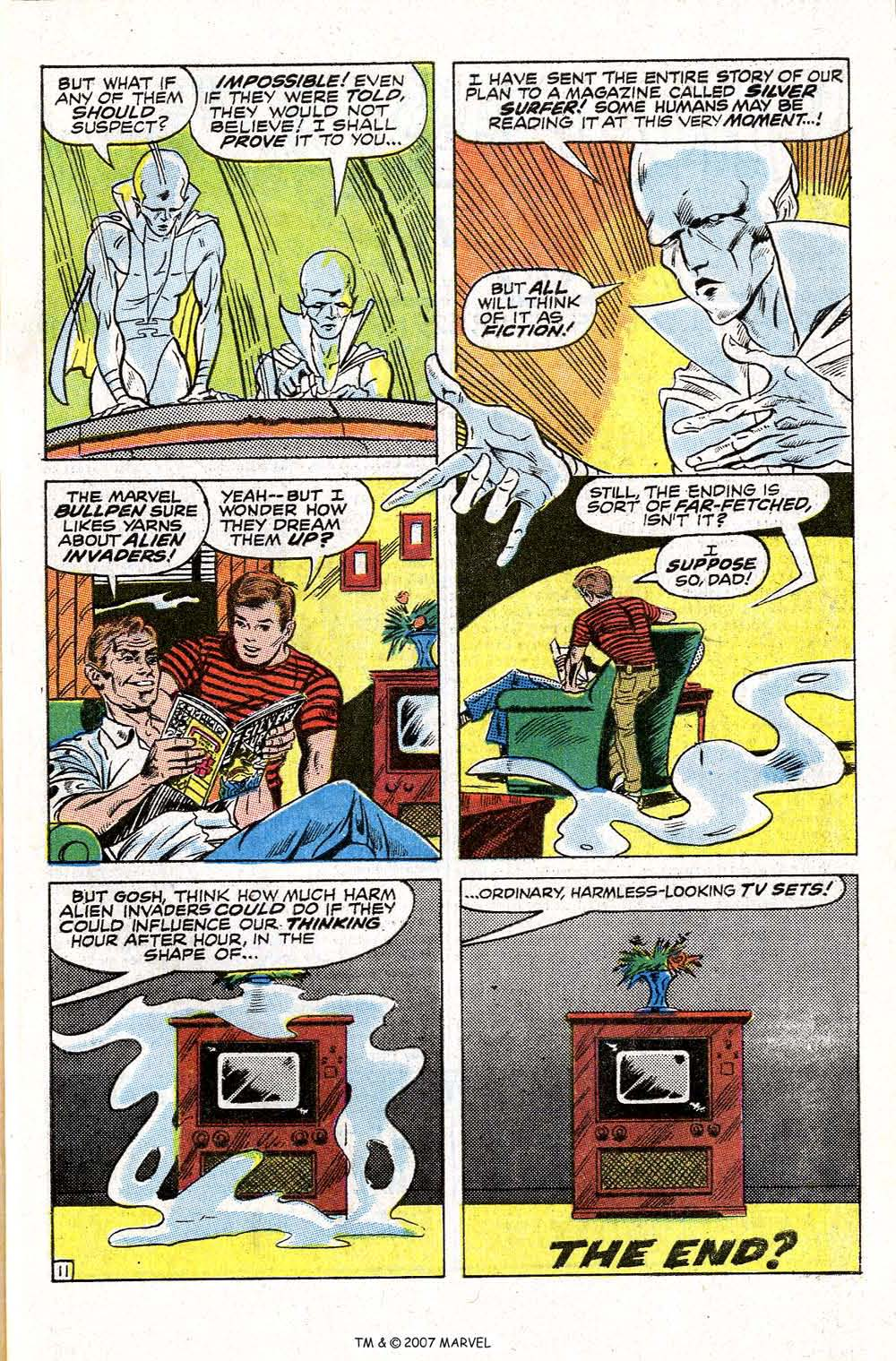 Read online Silver Surfer (1968) comic -  Issue #6 - 63