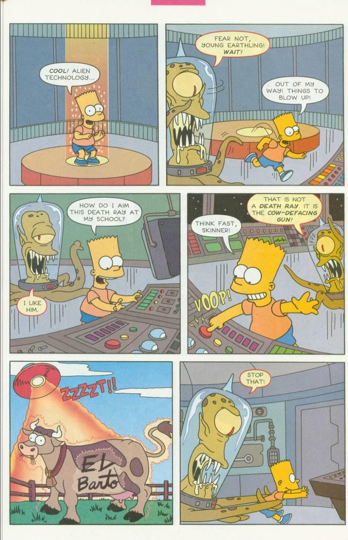 Read online Simpsons Comics Presents Bart Simpson comic -  Issue #1 - 26