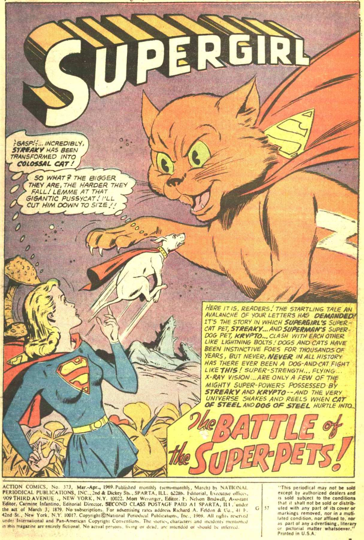 Read online Action Comics (1938) comic -  Issue #373 - 2