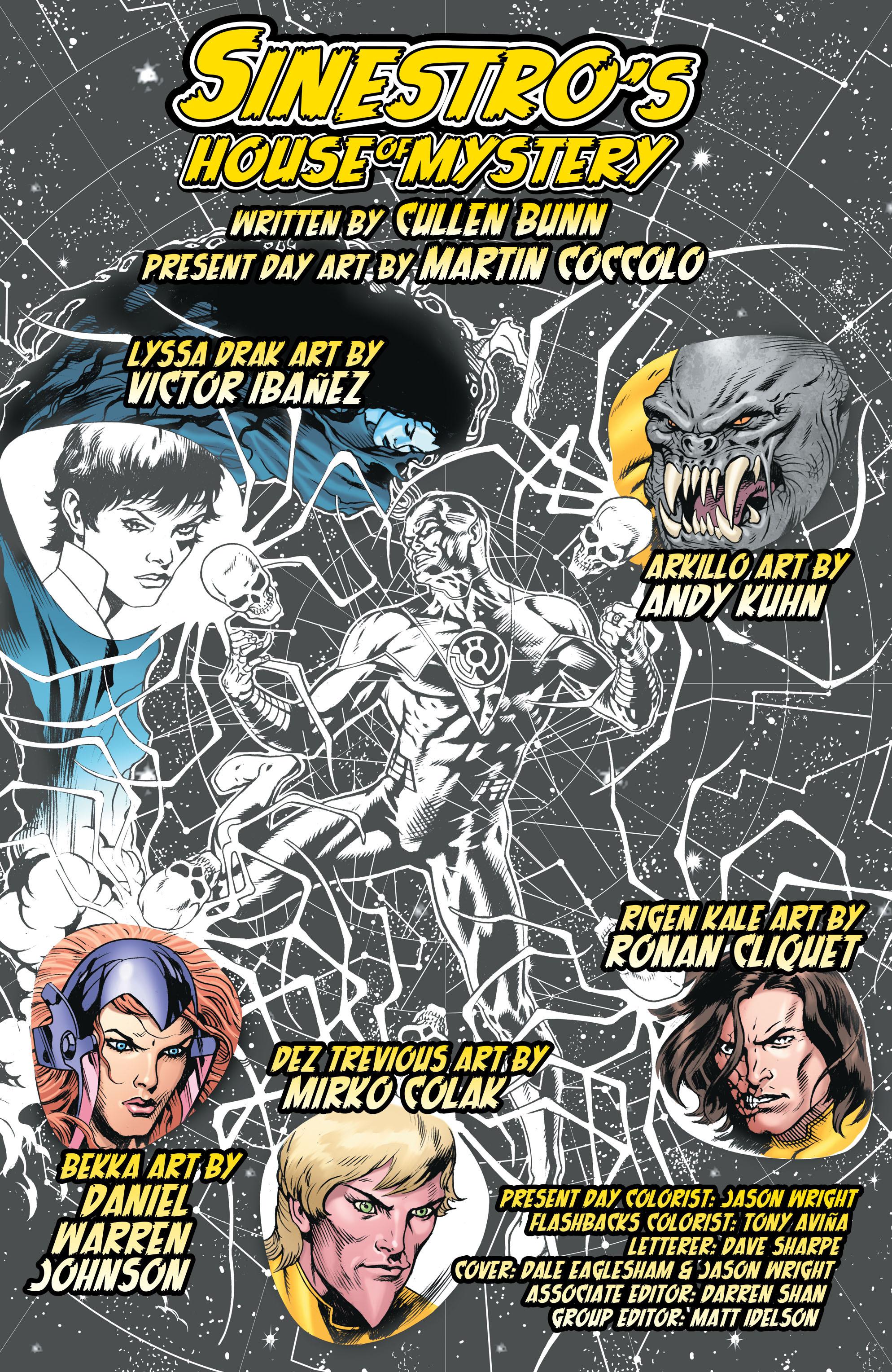 Read online Sinestro comic -  Issue # Annual 1 - 2