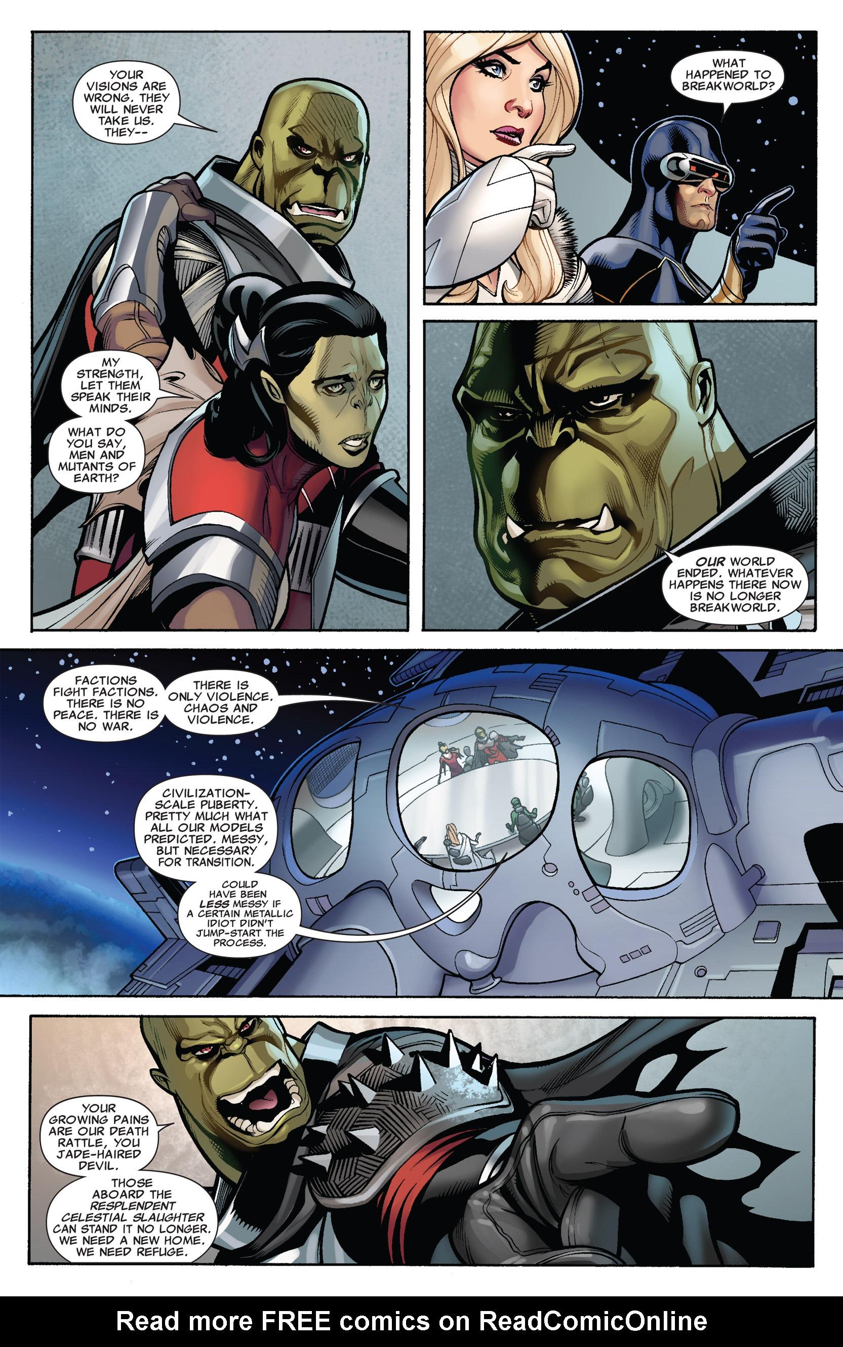 Read online Uncanny X-Men (1963) comic -  Issue #536 - 5