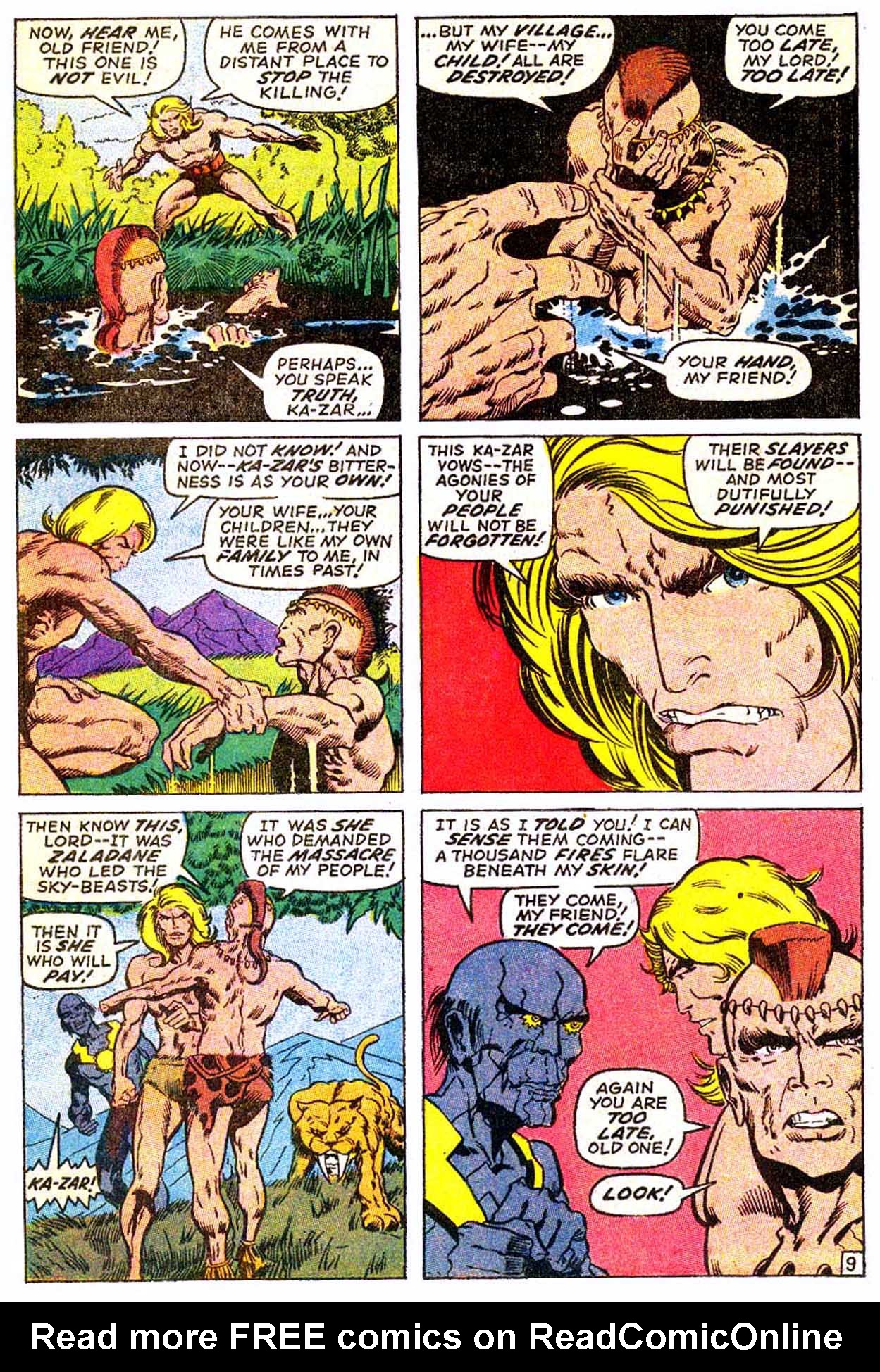 Read online Astonishing Tales (1970) comic -  Issue #3 - 20