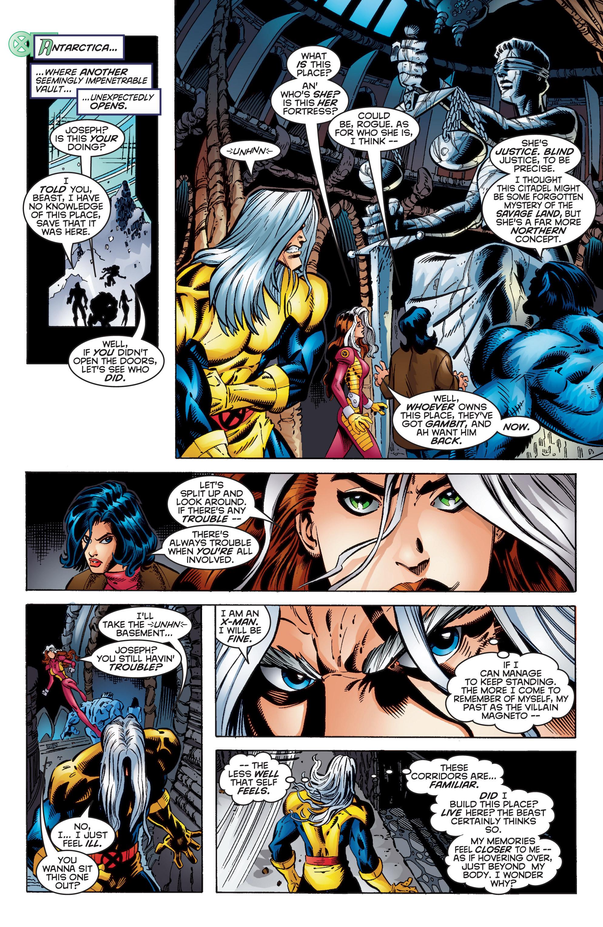 Read online Uncanny X-Men (1963) comic -  Issue #350 - 16