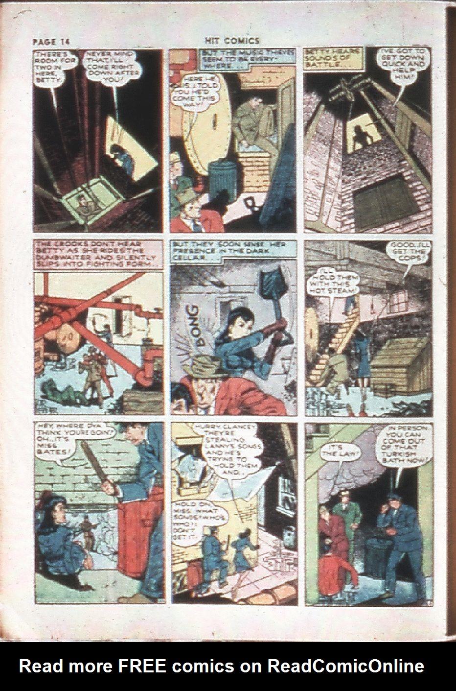 Read online Hit Comics comic -  Issue #10 - 16