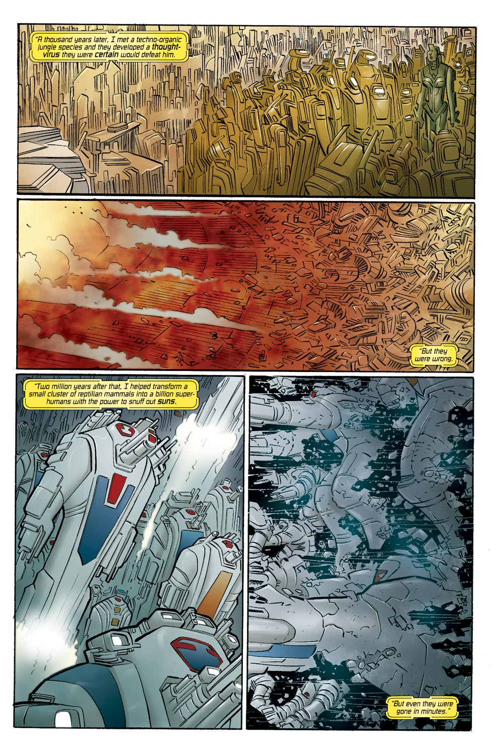 Read online Ultimate Vision comic -  Issue #0 - 17