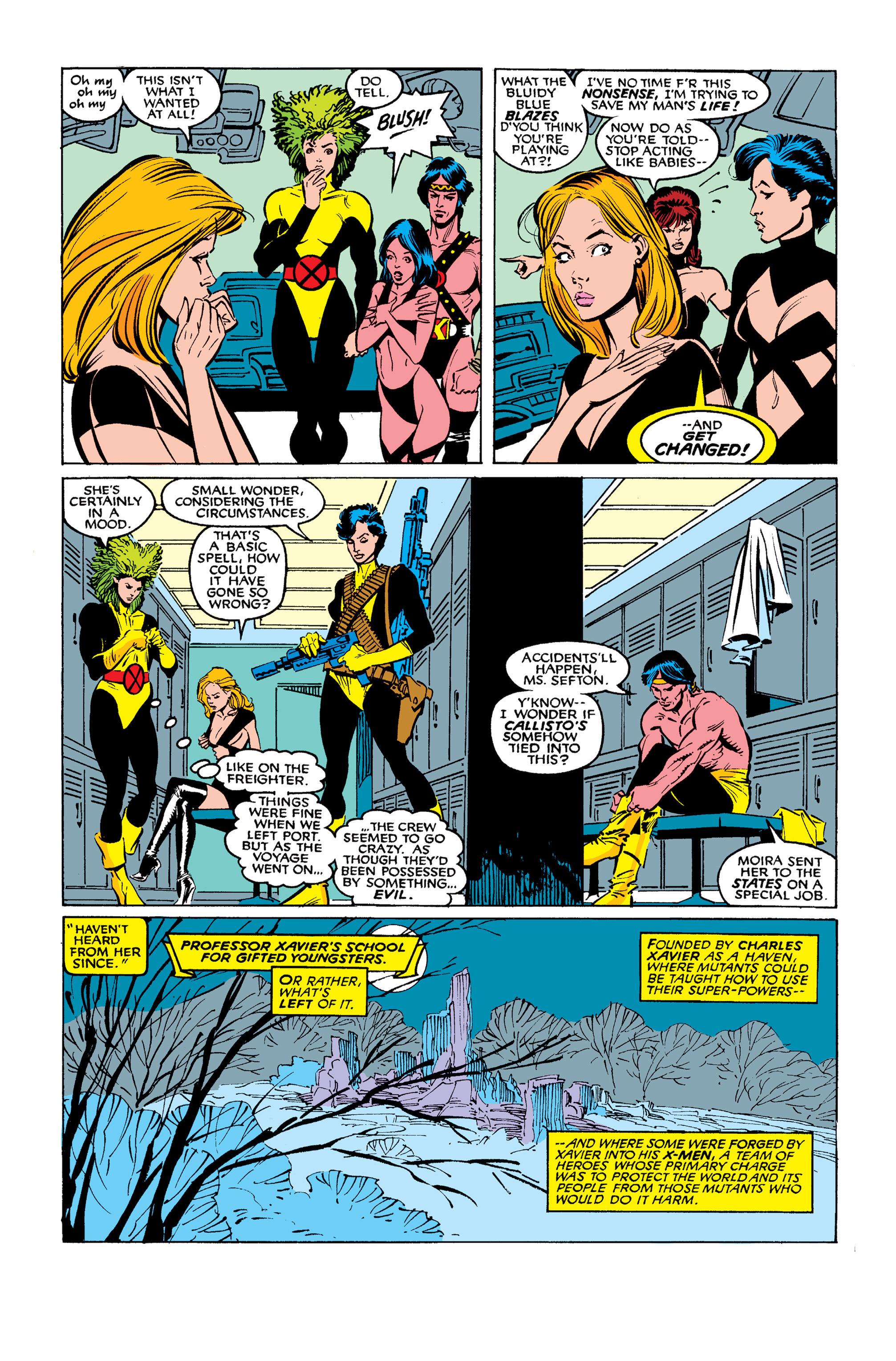 Read online Uncanny X-Men (1963) comic -  Issue #254 - 9