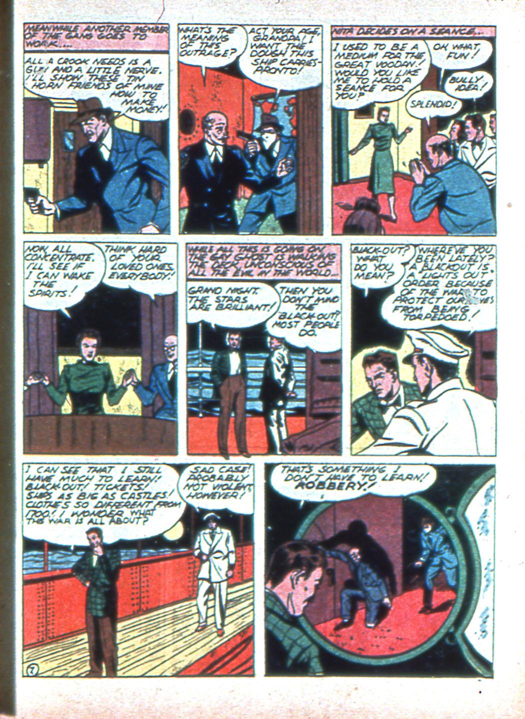 Read online Sensation (Mystery) Comics comic -  Issue #2 - 39