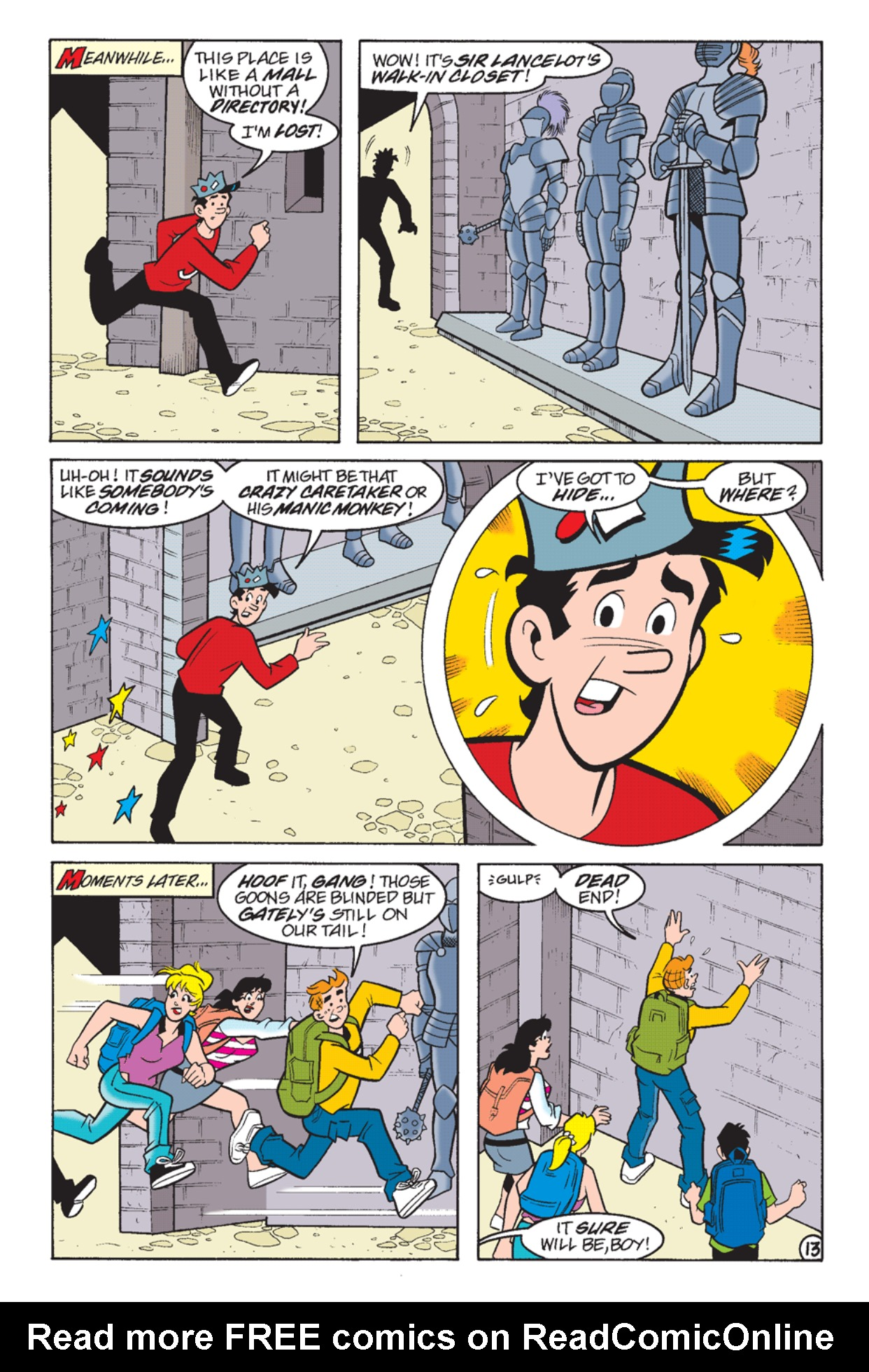 Read online Archie's Weird Mysteries comic -  Issue #24 - 15