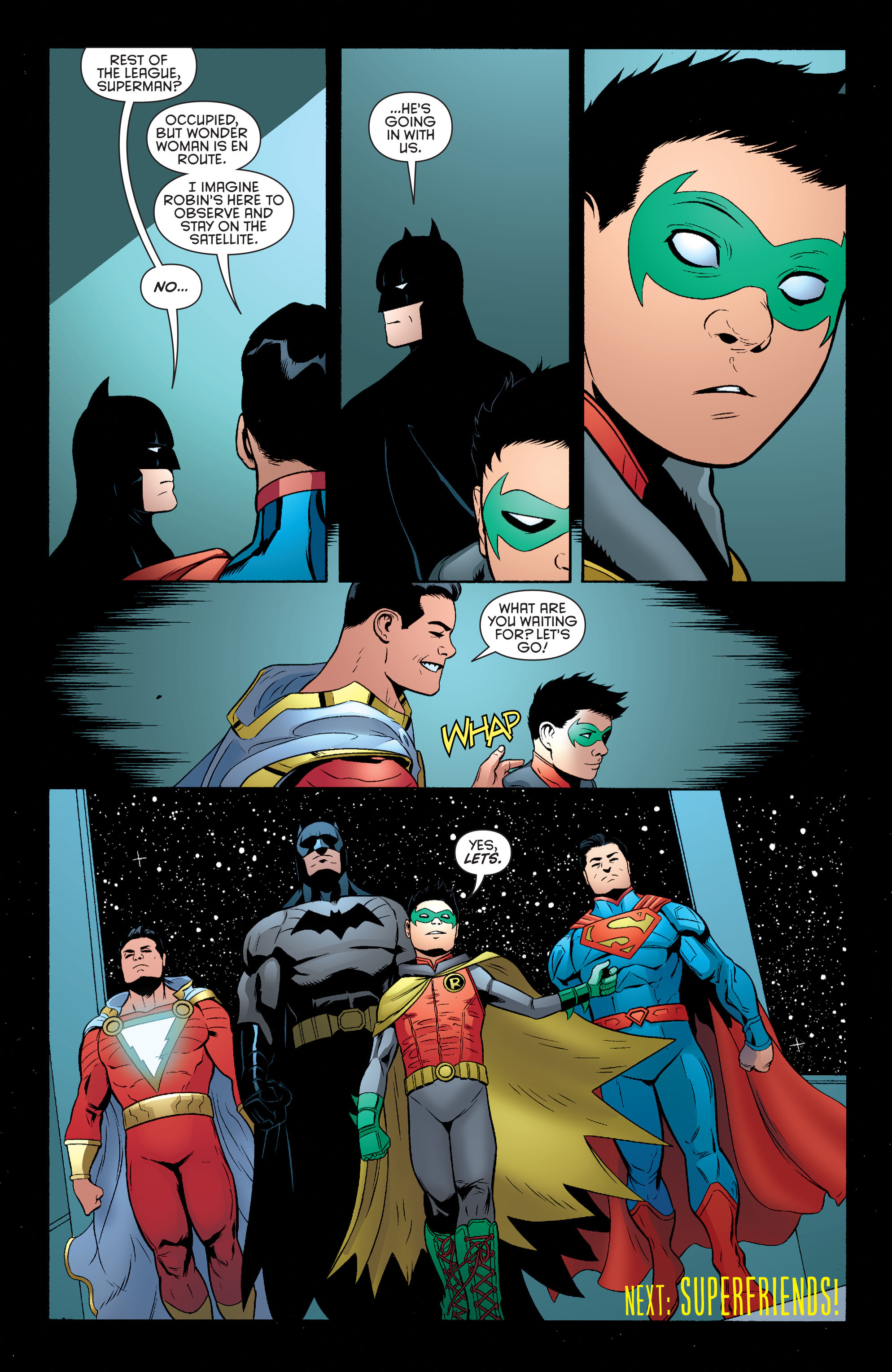 Read online Batman and Robin (2011) comic -  Issue #39 - 20