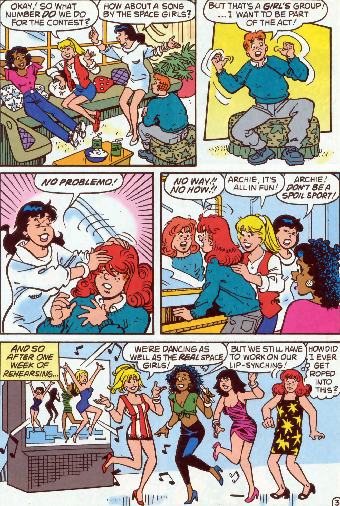 Read online Archie (1960) comic -  Issue #478 - 4