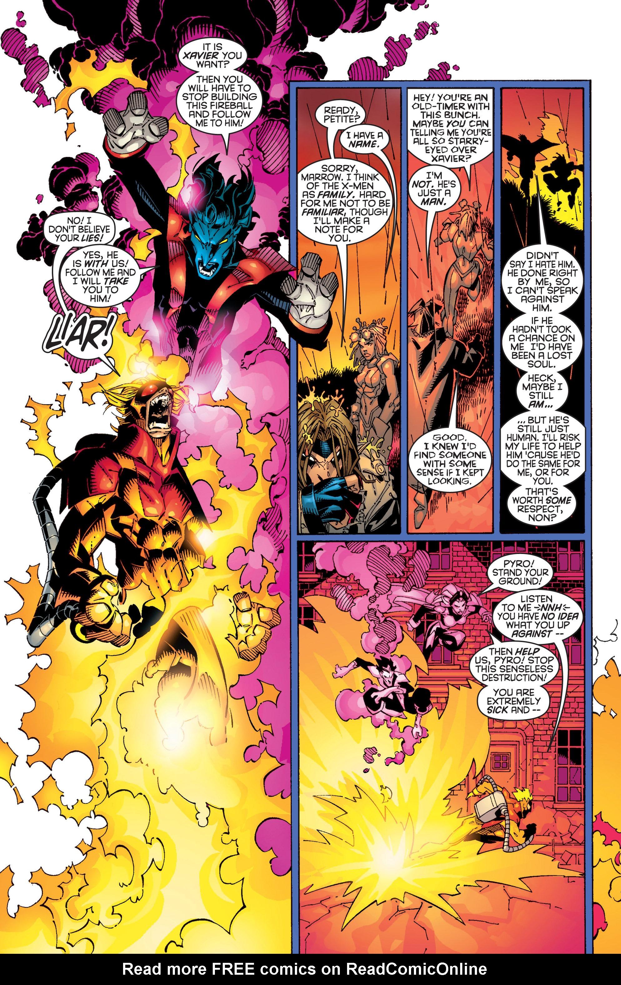 Read online Uncanny X-Men (1963) comic -  Issue #362 - 16
