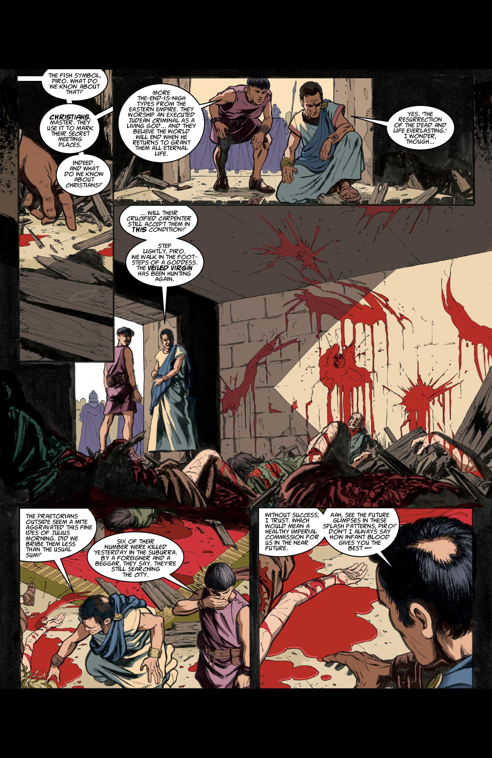 Read online Aquila comic -  Issue #3 - 13