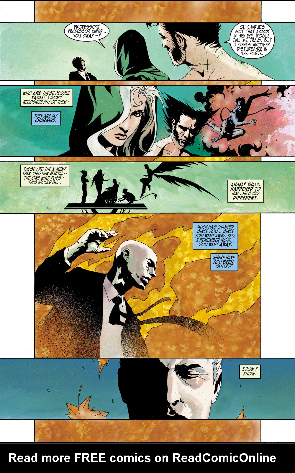 Read online Sentry (2000) comic -  Issue #4 - 7