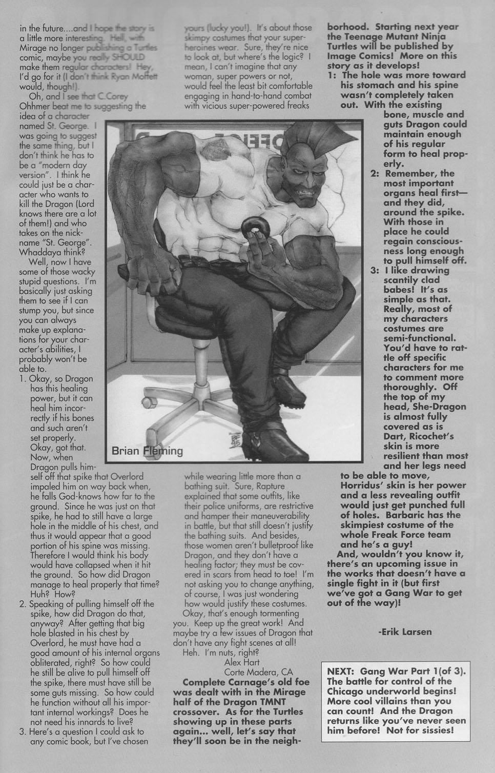 The Savage Dragon (1993) Issue #23 #26 - English 30