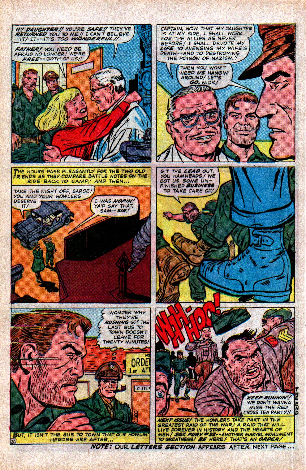Read online Sgt. Fury comic -  Issue #21 - 28