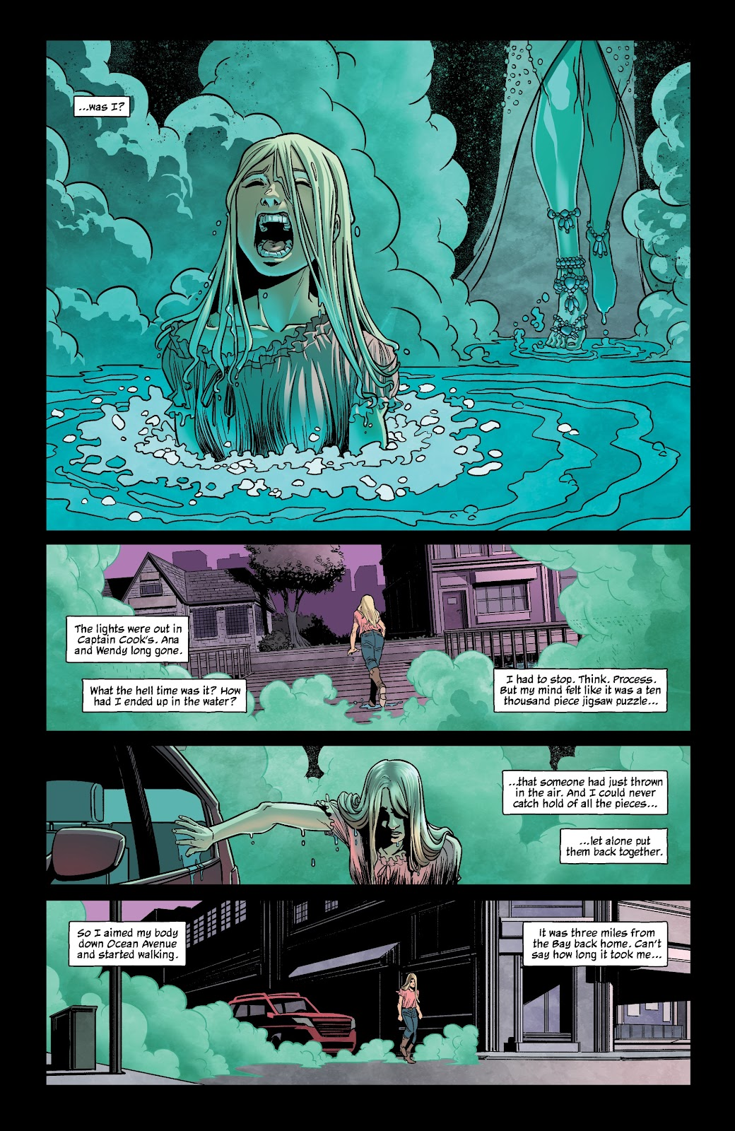 Read online The Girl In The Bay comic -  Issue #1 - 13