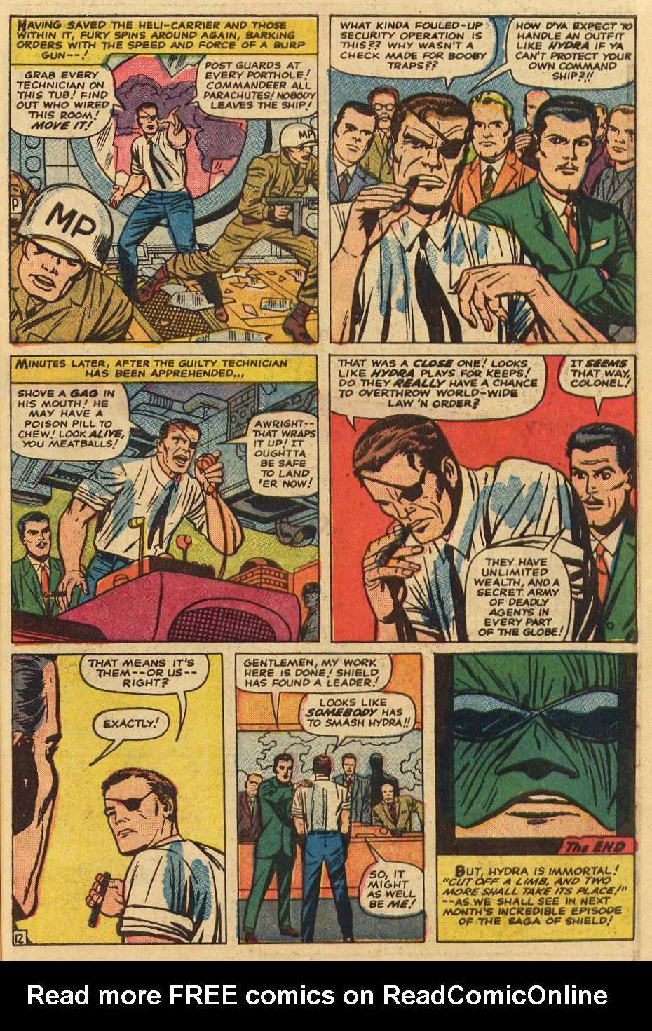 Read online Sgt. Fury comic -  Issue # _Special 2 - 39