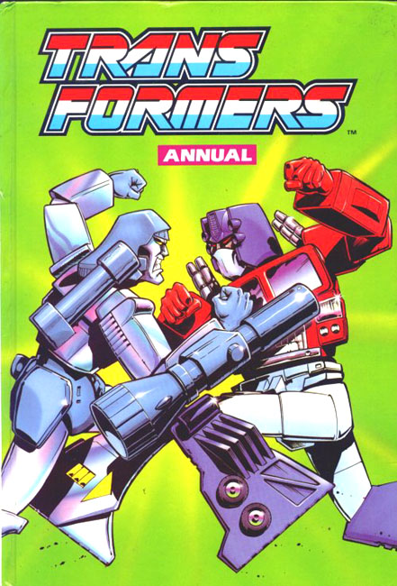 The Transformers Annual 1989 Page 1