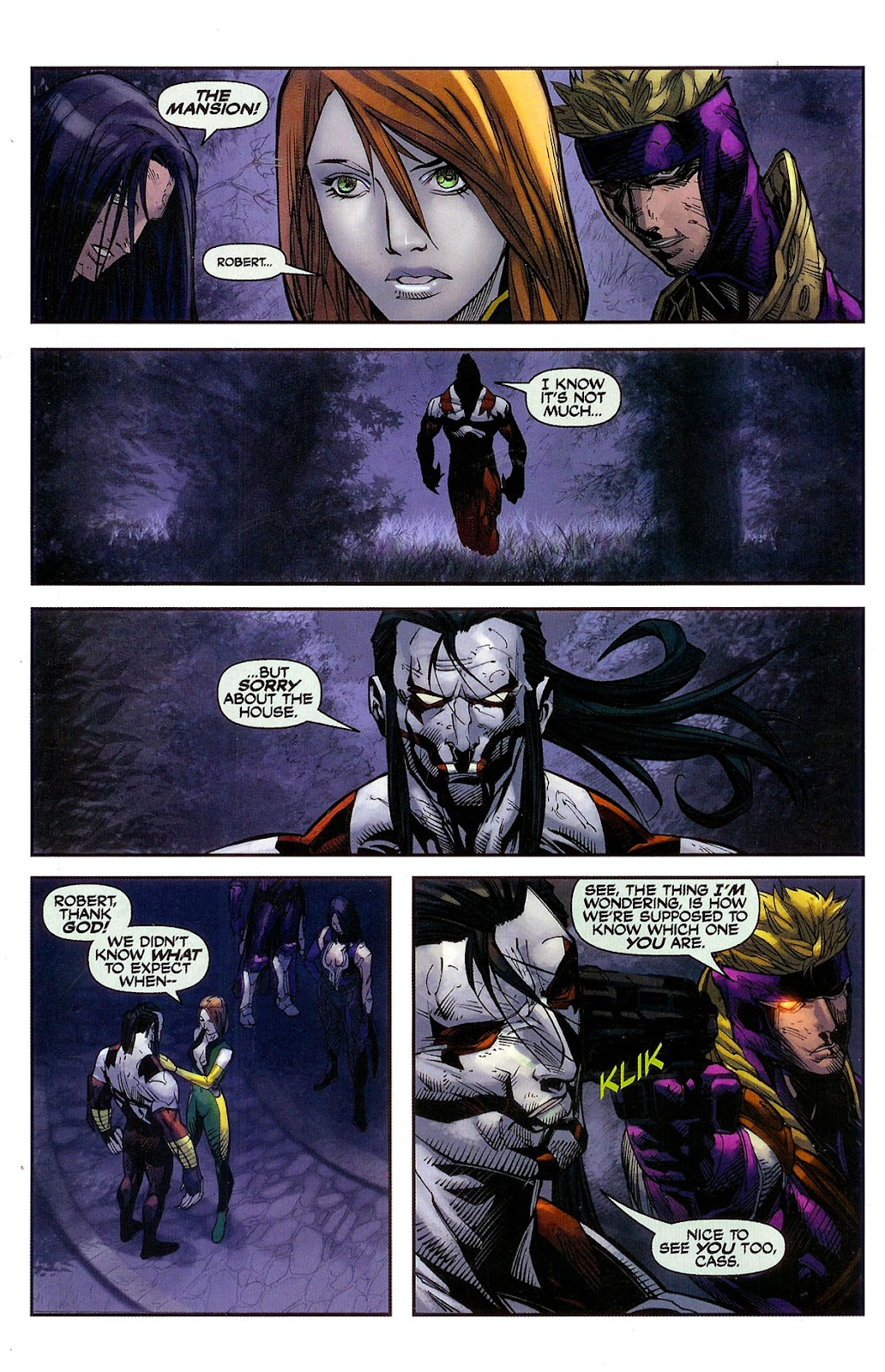 Cyberforce (2006) Issue #2 #3 - English 19