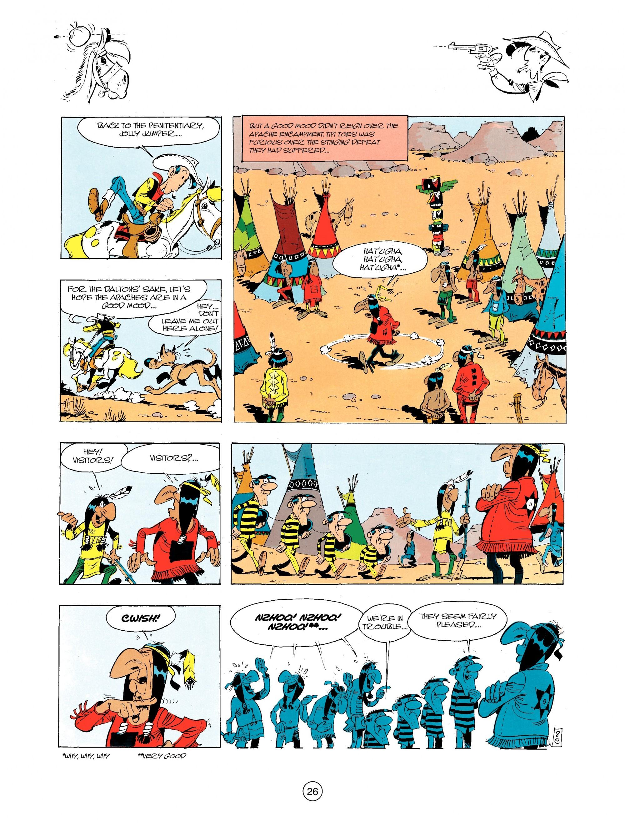Read online A Lucky Luke Adventure comic -  Issue #34 - 26