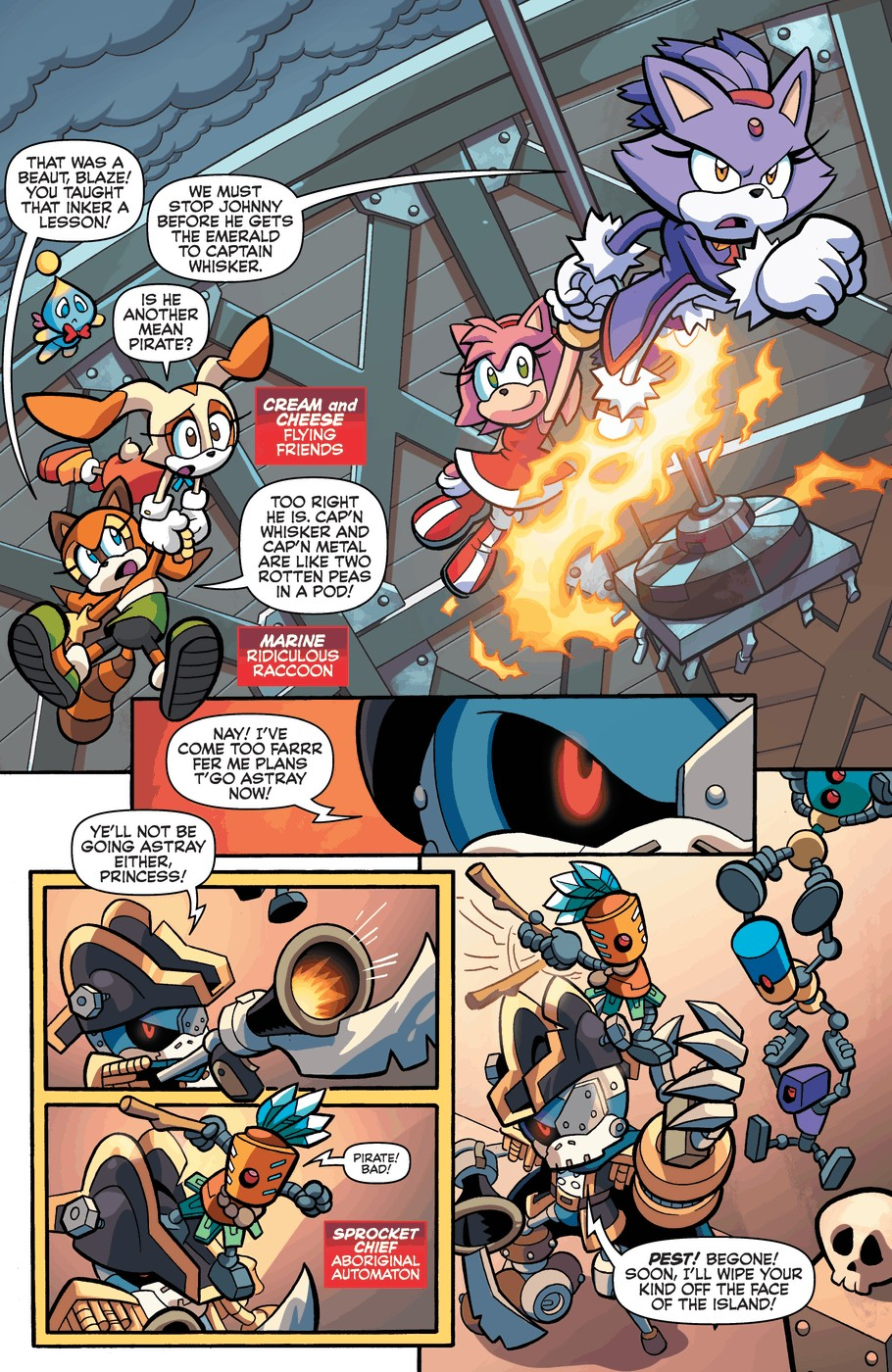 Read online Sonic Universe comic -  Issue #57 - 6