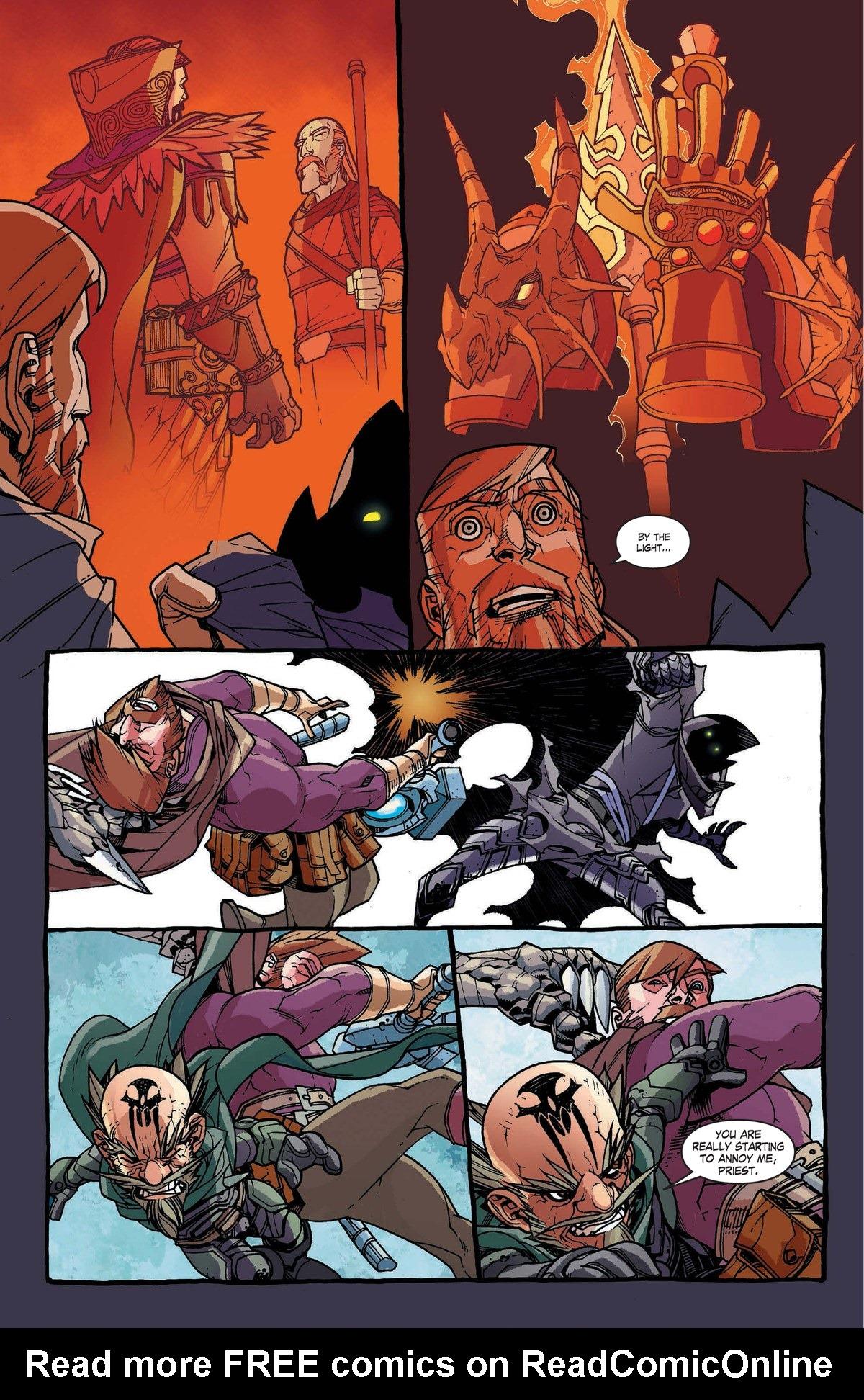 Read online World of Warcraft: Dark Riders comic -  Issue # Full - 116