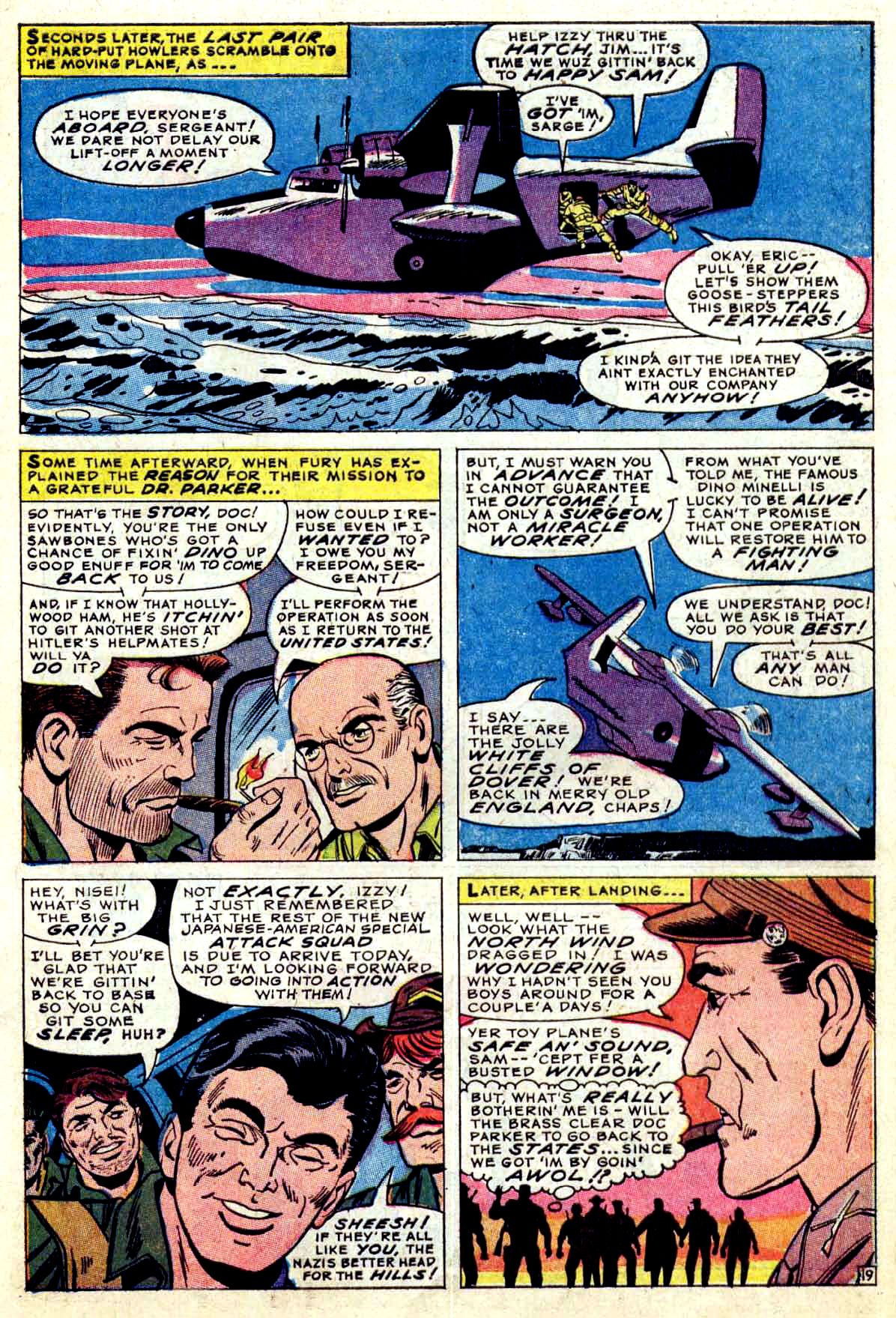 Read online Sgt. Fury comic -  Issue #38 - 27